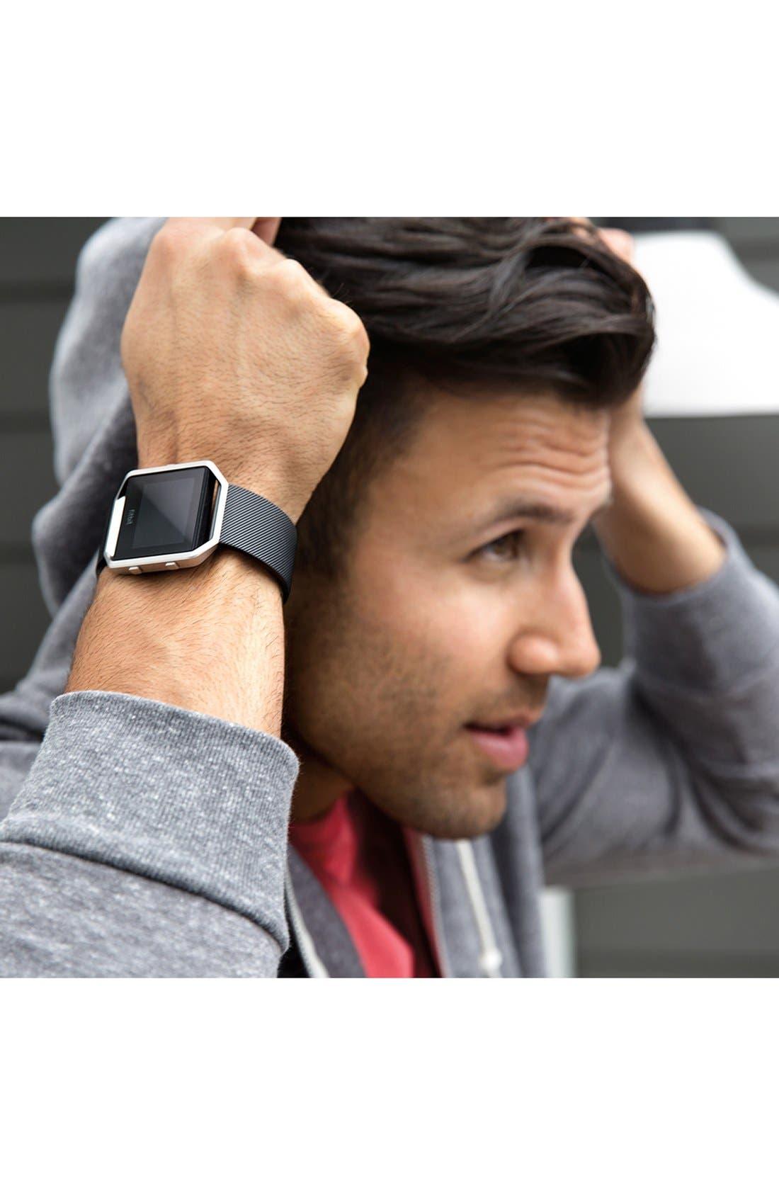 FITBIT, Blaze Smart Fitness Watch, Alternate thumbnail 5, color, 001