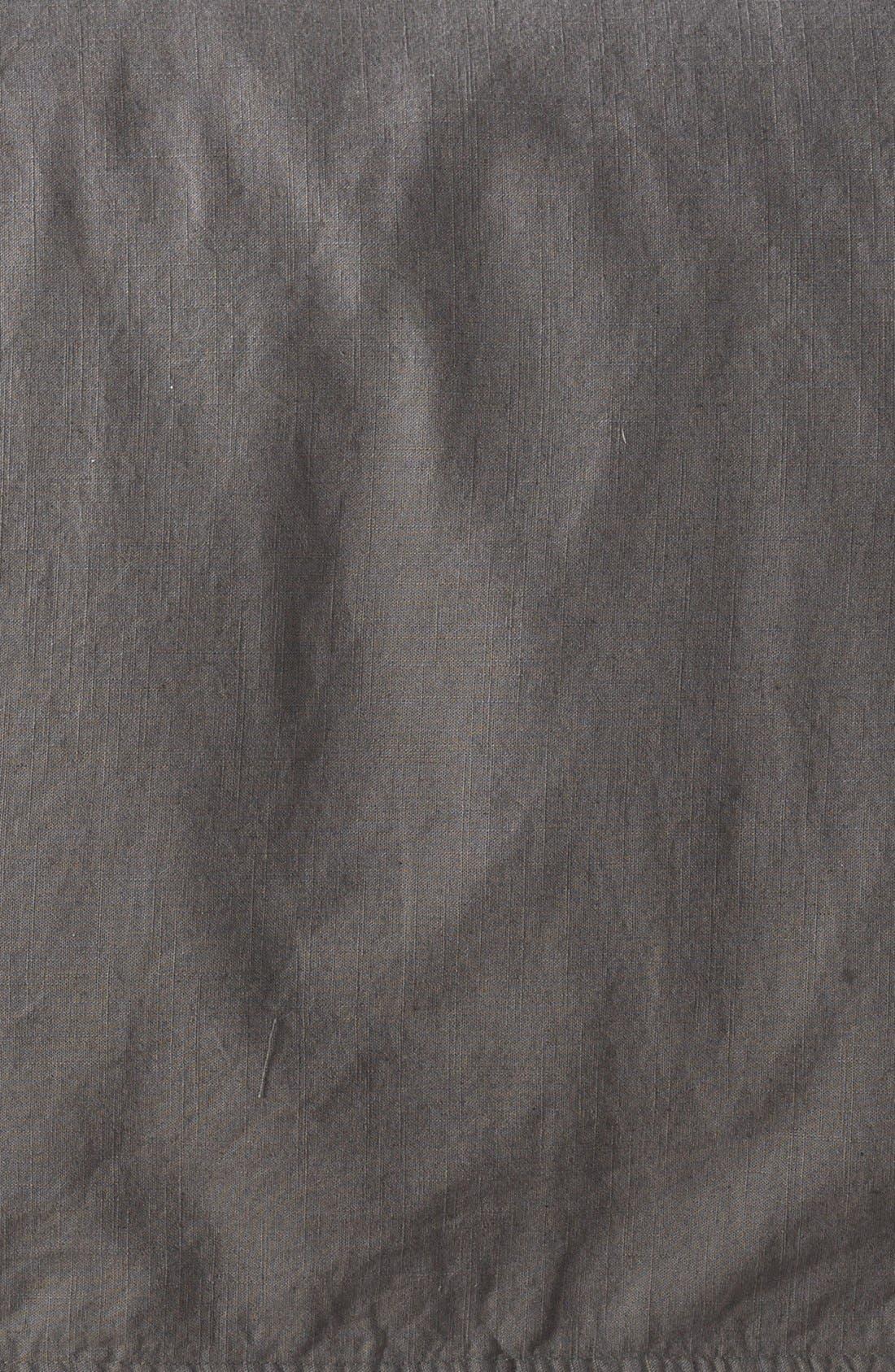NORDSTROM AT HOME, 'Terra' Cotton & Linen Duvet Cover, Alternate thumbnail 3, color, 021