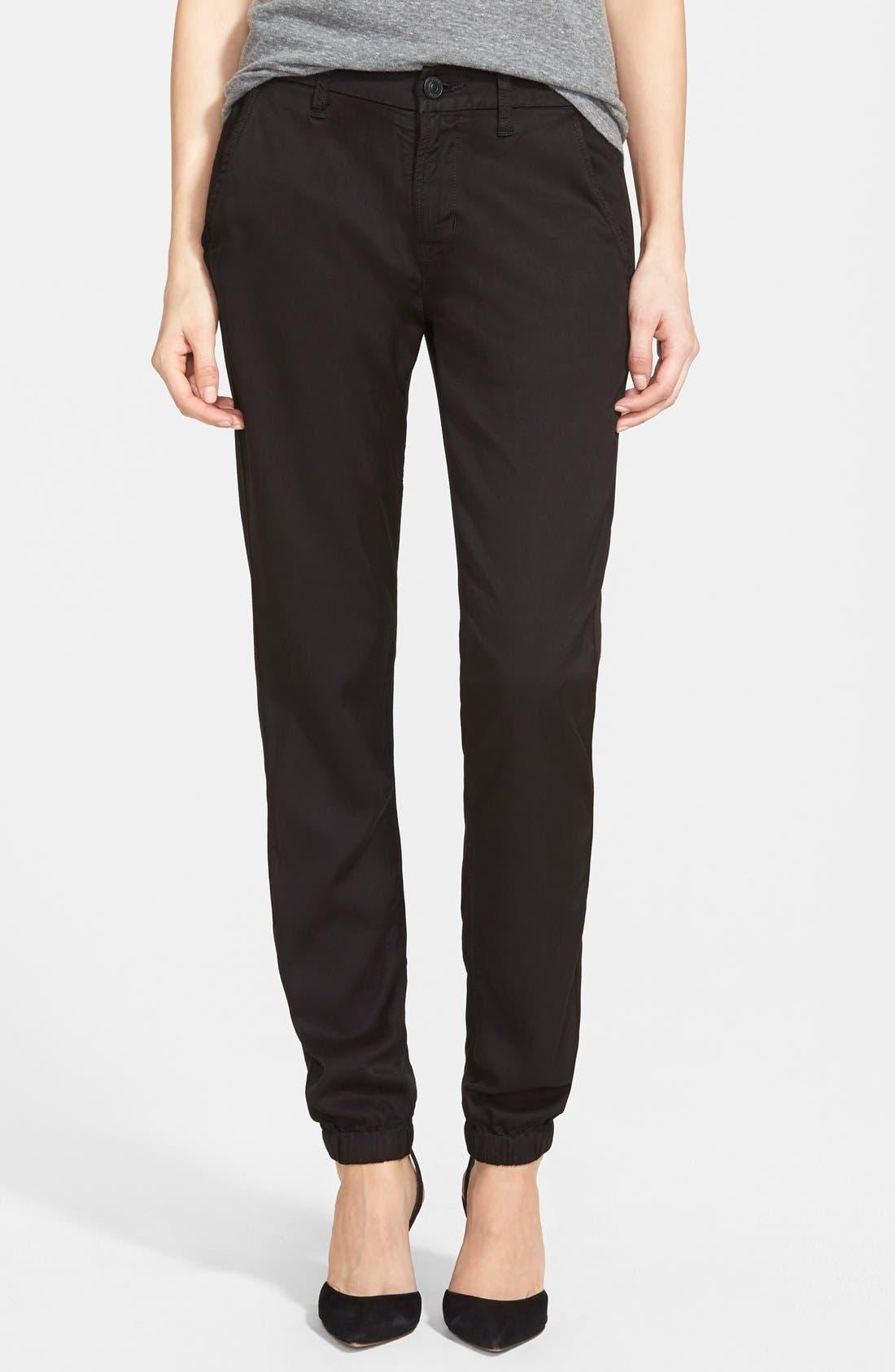 HUDSON JEANS 'Vanish' Plaid Chino Pants, Main, color, 001