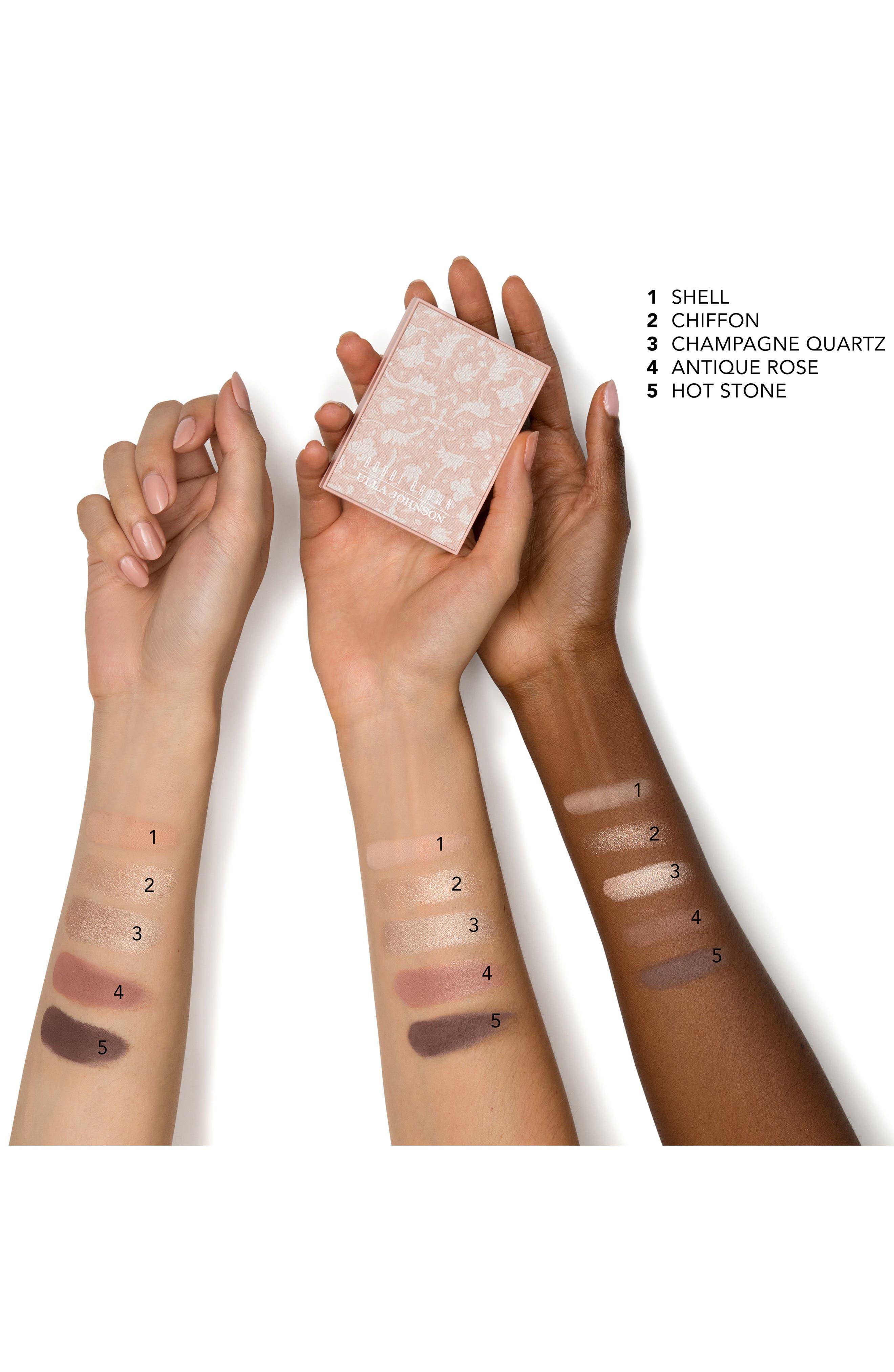 BOBBI BROWN, x Ulla Johnson The Minou Eyeshadow Palette, Alternate thumbnail 4, color, MINOU
