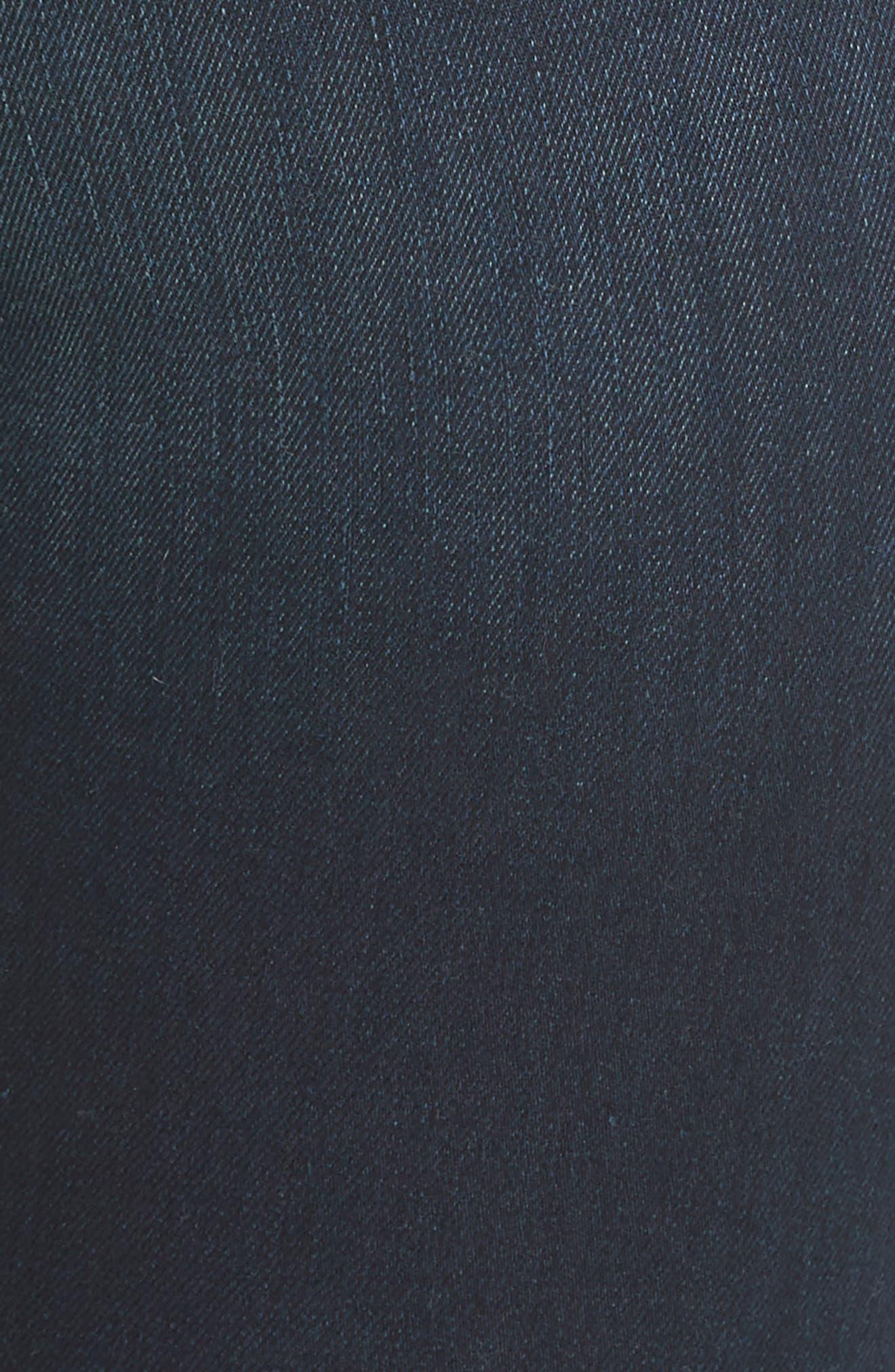 RAG & BONE, High Waist Ankle Skinny Jeans, Alternate thumbnail 6, color, BEDFORD