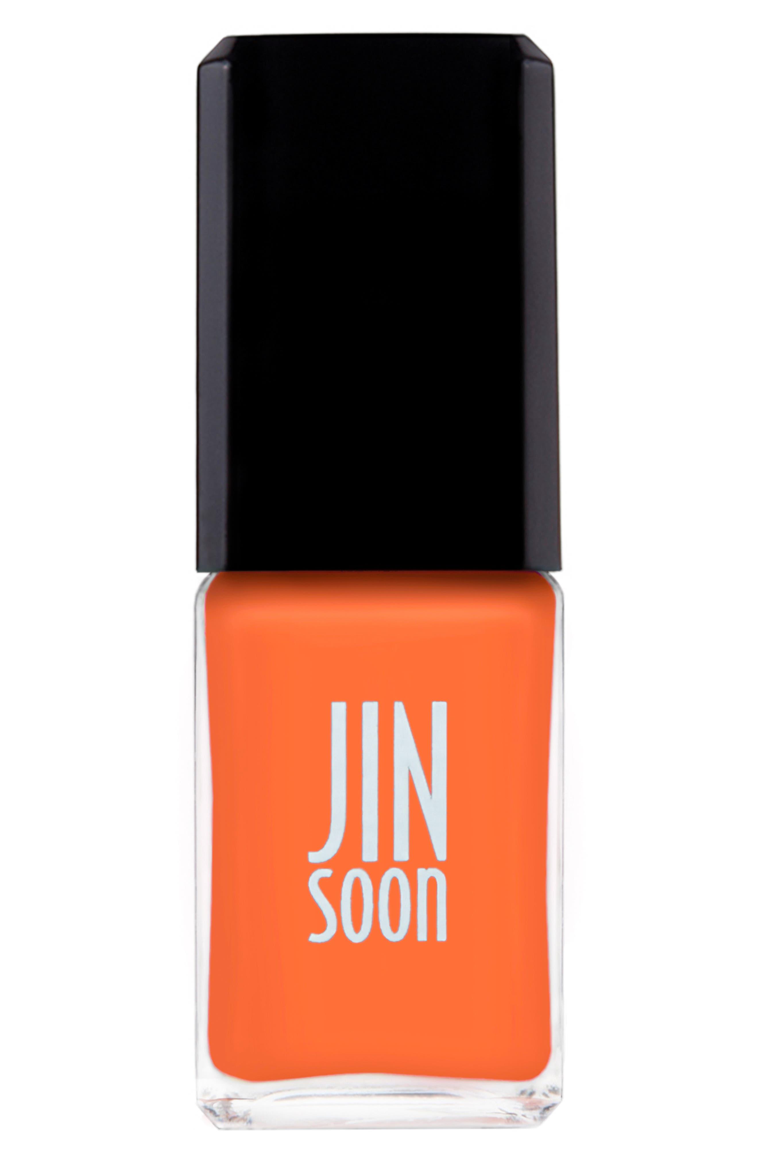JINSOON, 'Enflammée' Nail Polish, Main thumbnail 1, color, 800