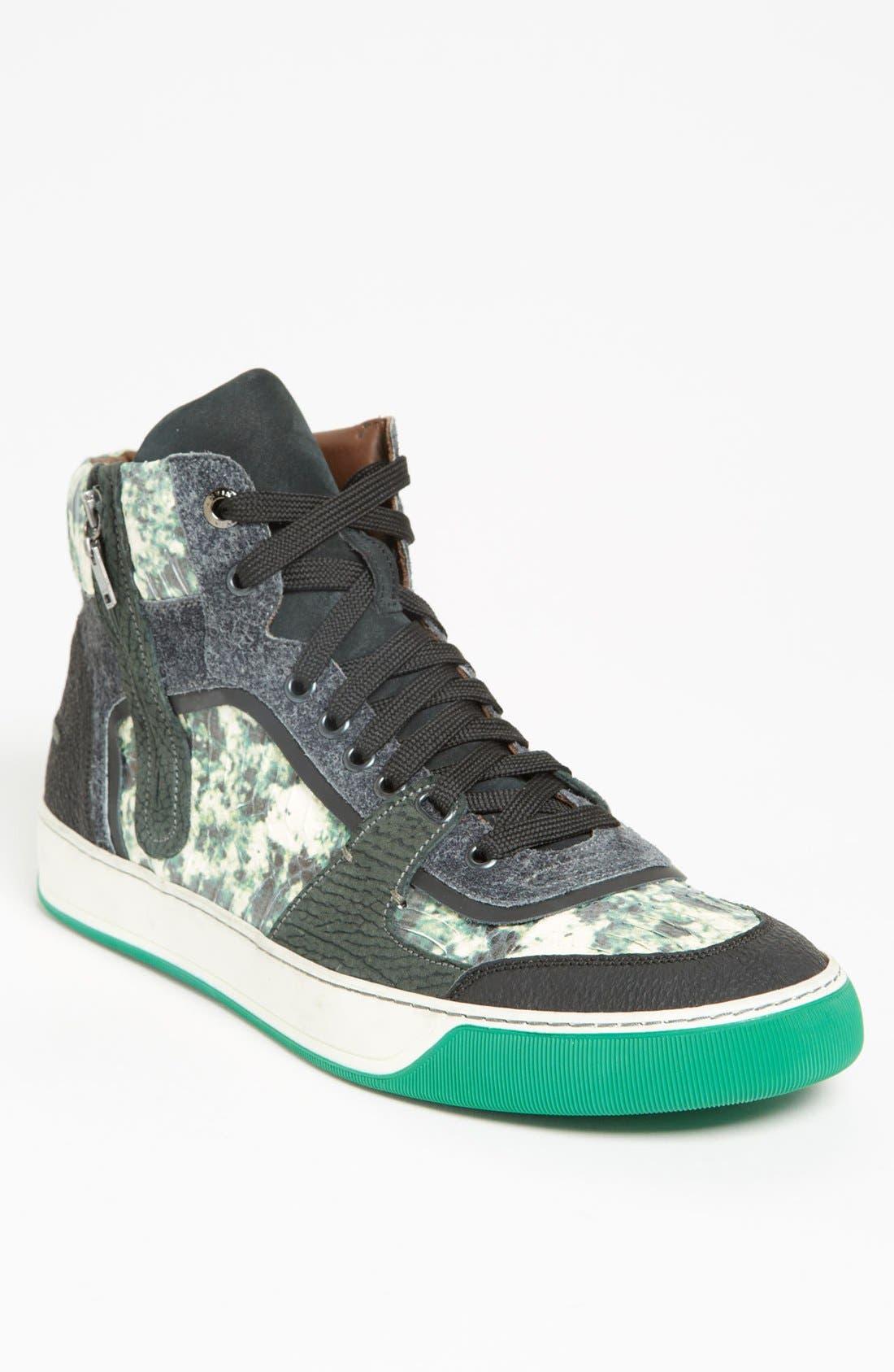 LANVIN, High Top Sneaker, Main thumbnail 1, color, 300