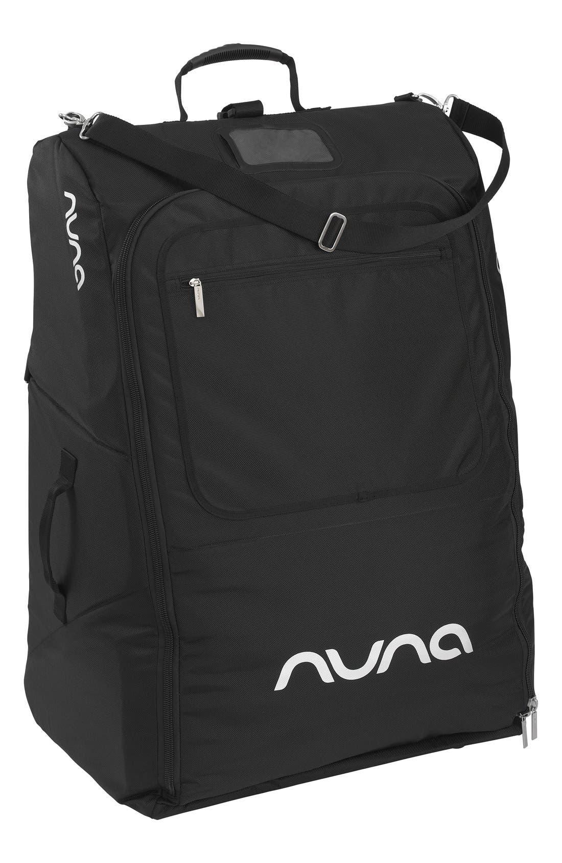 NUNA Stroller Transport Bag, Main, color, BLACK