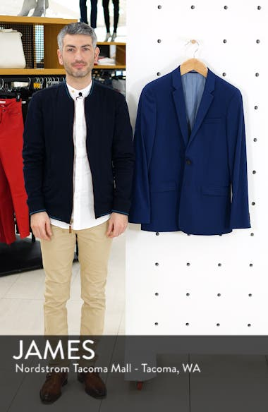 Skinny Fit Suit Jacket, sales video thumbnail