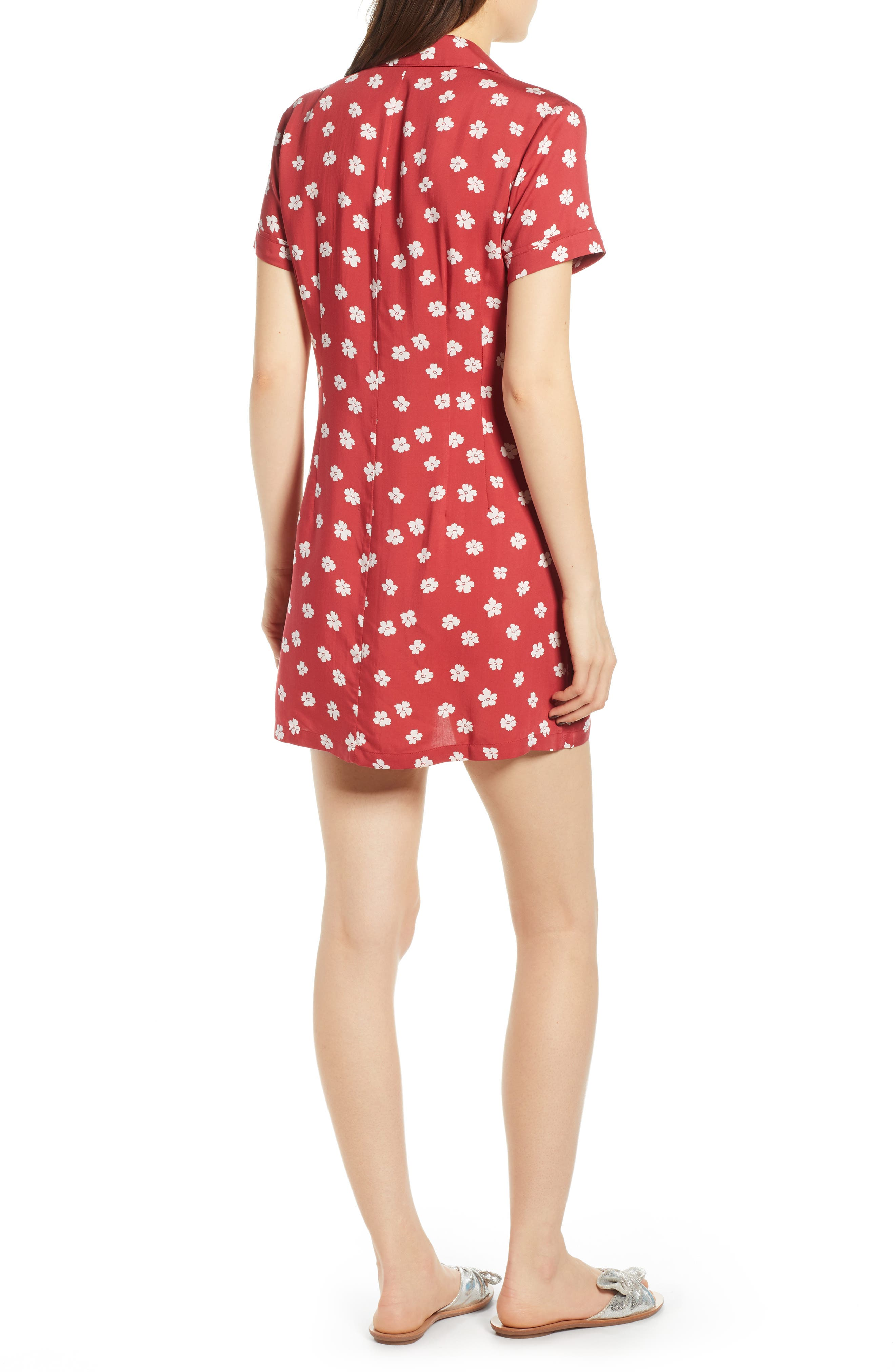 REFORMATION, Plymouth Shirtdress, Alternate thumbnail 2, color, DELIA