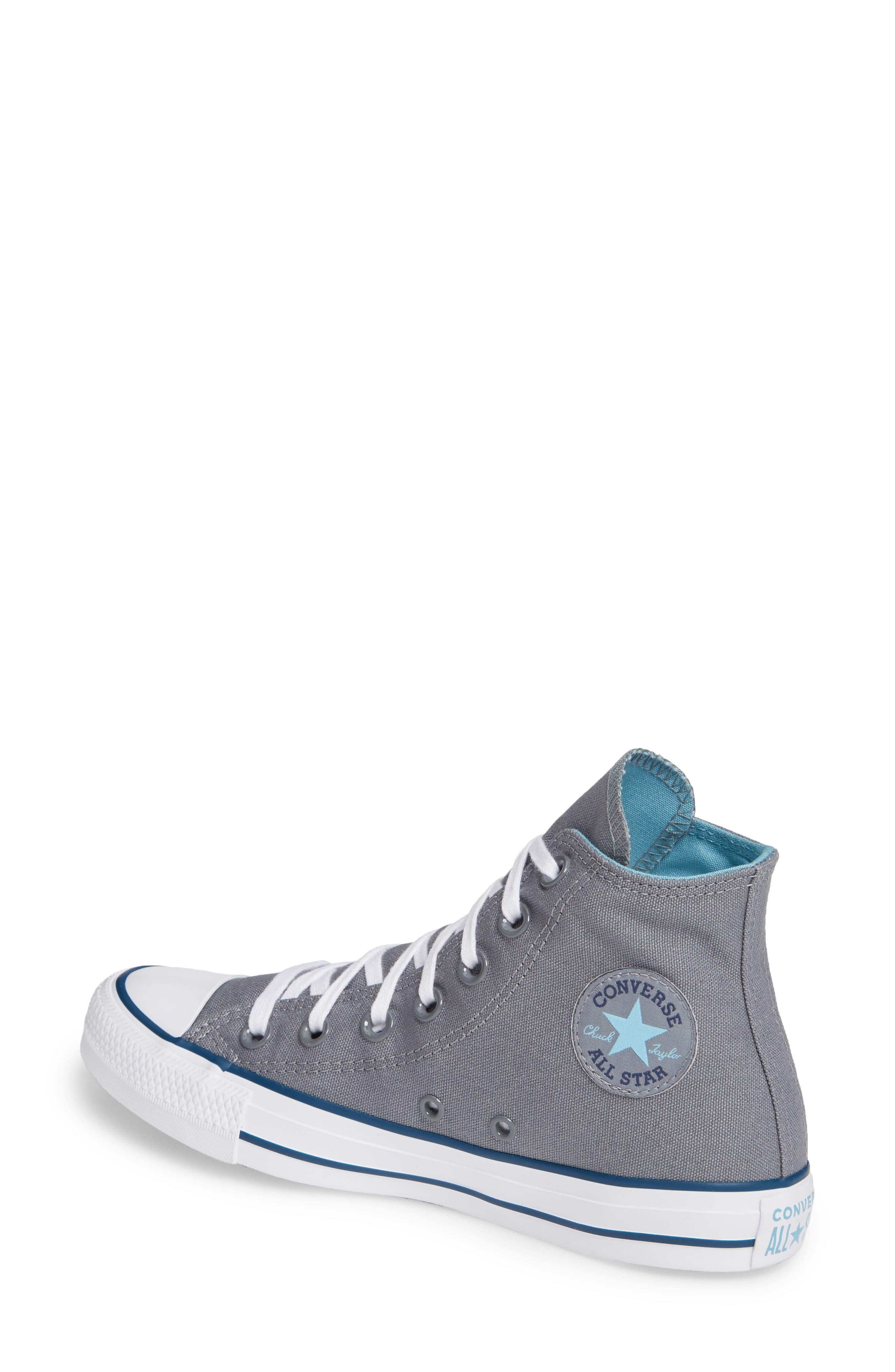 CONVERSE, Chuck Taylor<sup>®</sup> All Star<sup>®</sup> Seasonal Hi Sneaker, Alternate thumbnail 2, color, 039