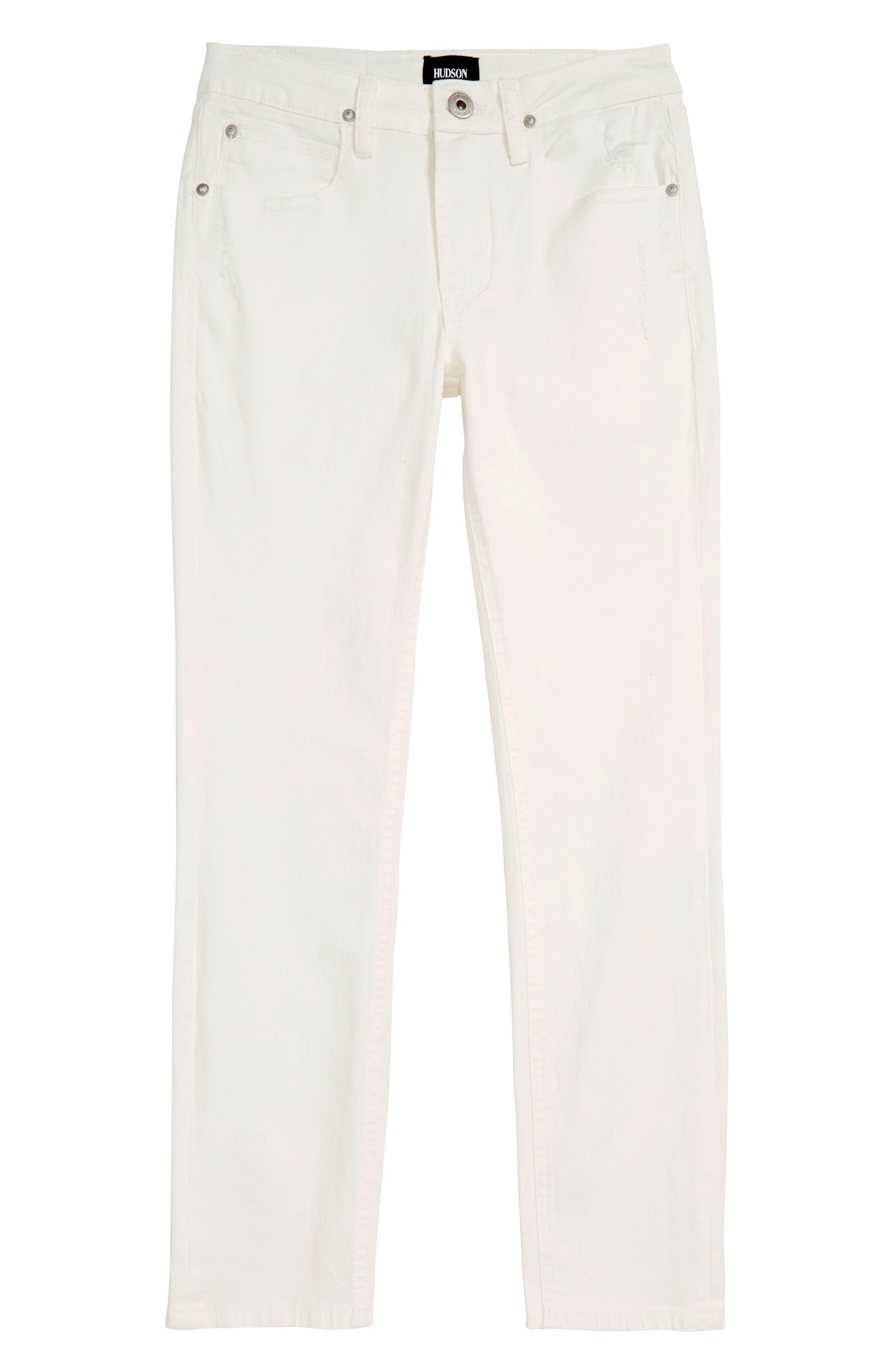 HUDSON KIDS Straight Leg Jeans, Main, color, MOONSHINE