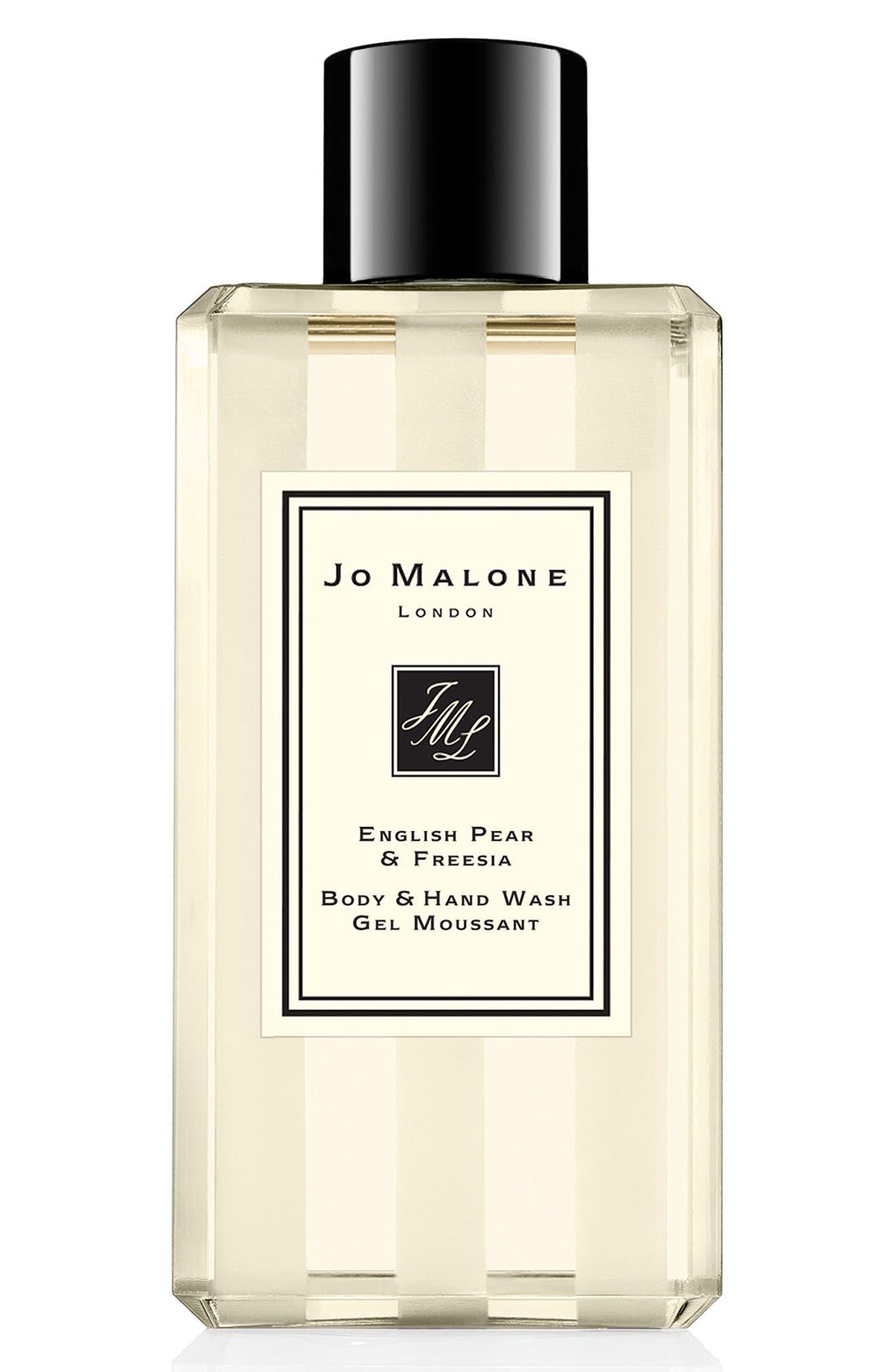 JO MALONE LONDON<SUP>™</SUP> English Pear & Freesia Body & Hand Wash, Main, color, NO COLOR