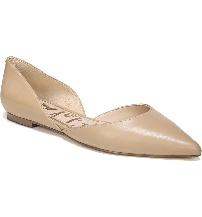 4bdea7803 Sam Edelman Rodney Pointy Toe d Orsay Flat (Women)