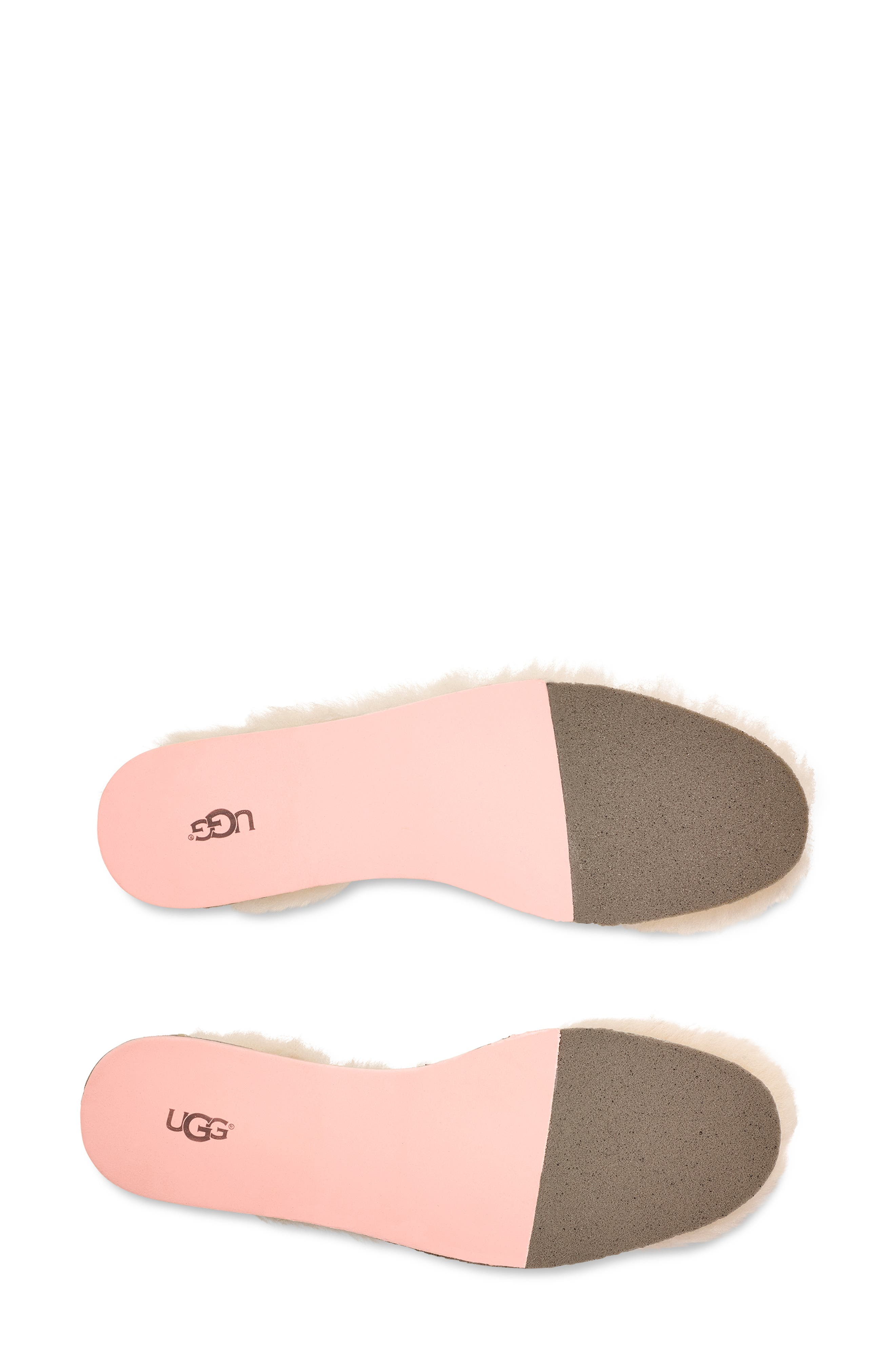 UGG<SUP>®</SUP>, Genuine Sheepskin Insoles, Alternate thumbnail 4, color, NATURAL