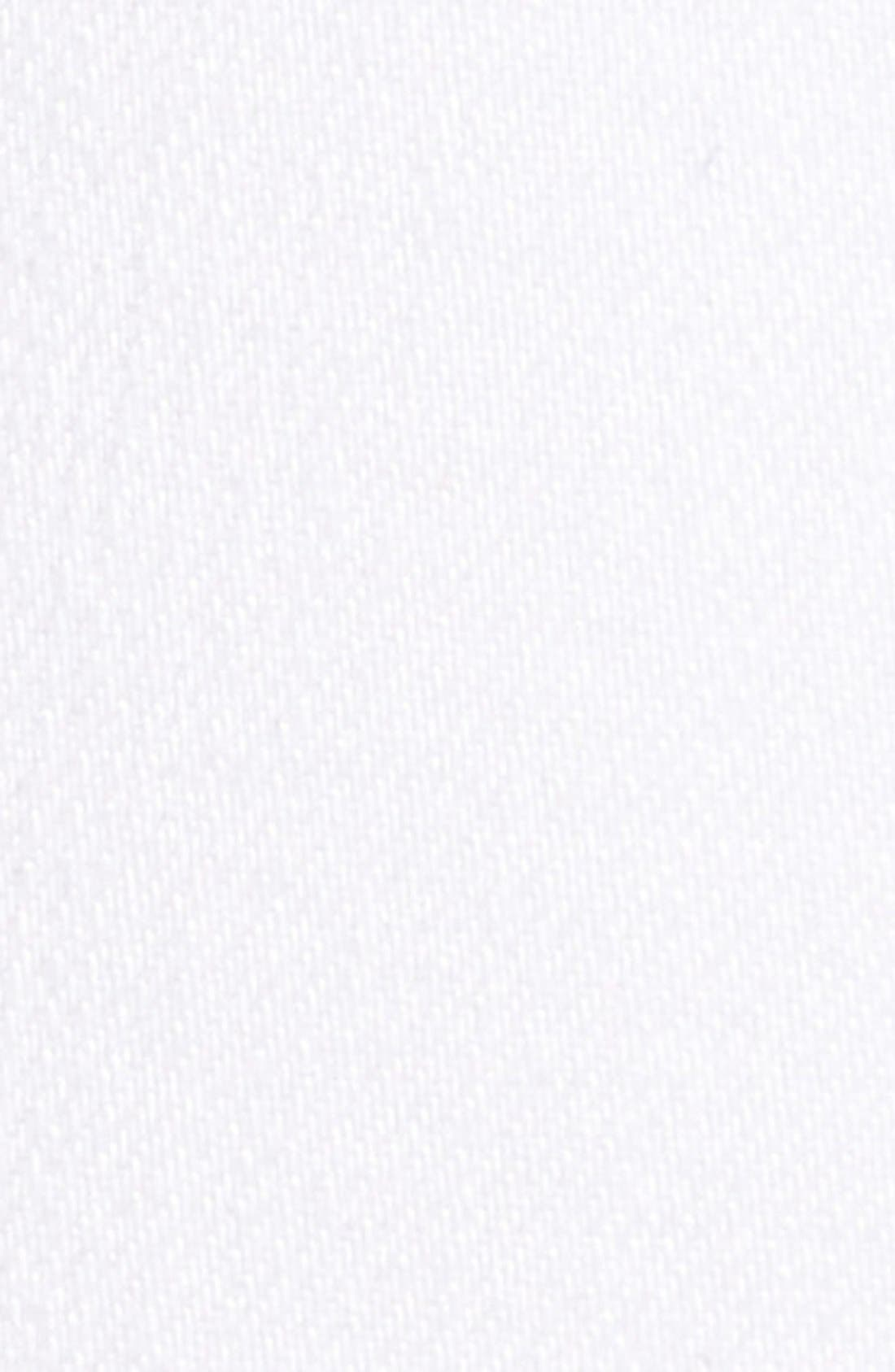 RAG & BONE, High Rise Raw Hem Crop Flare Jeans, Alternate thumbnail 2, color, BRIGHT WHITE