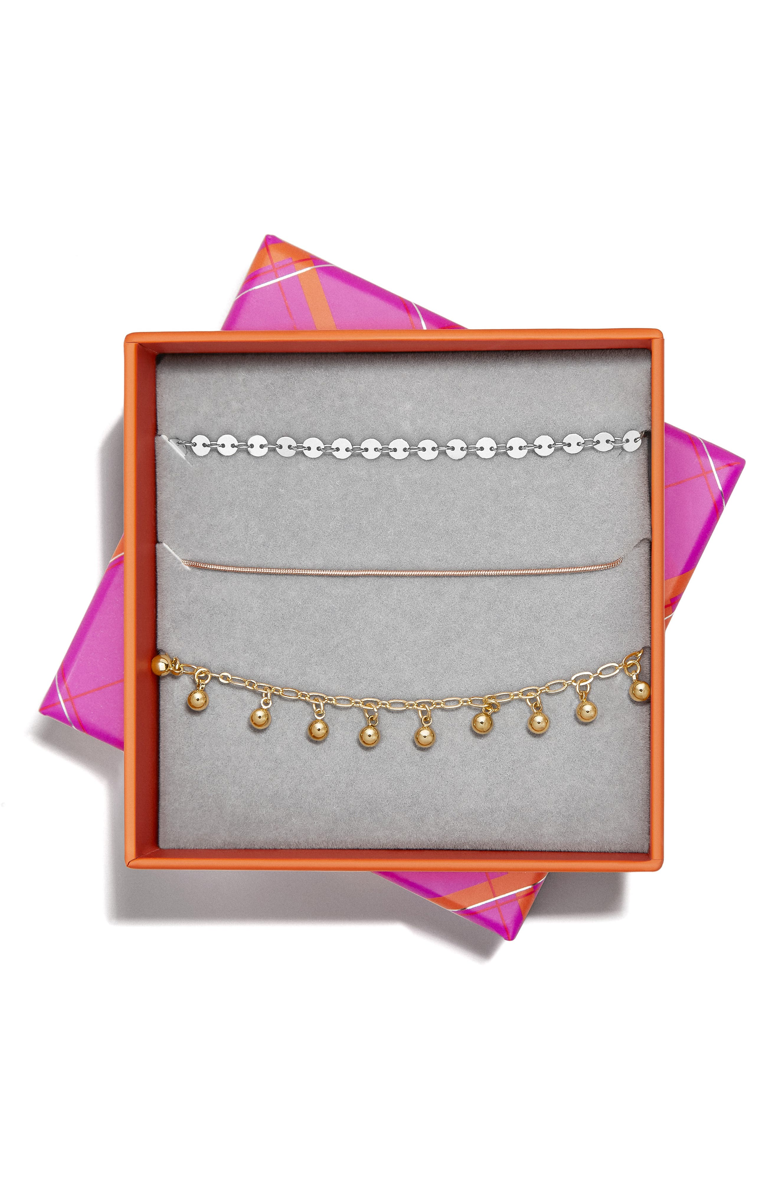 BAUBLEBAR, Asteria Set of 3 Bracelets, Alternate thumbnail 2, color, MULTI