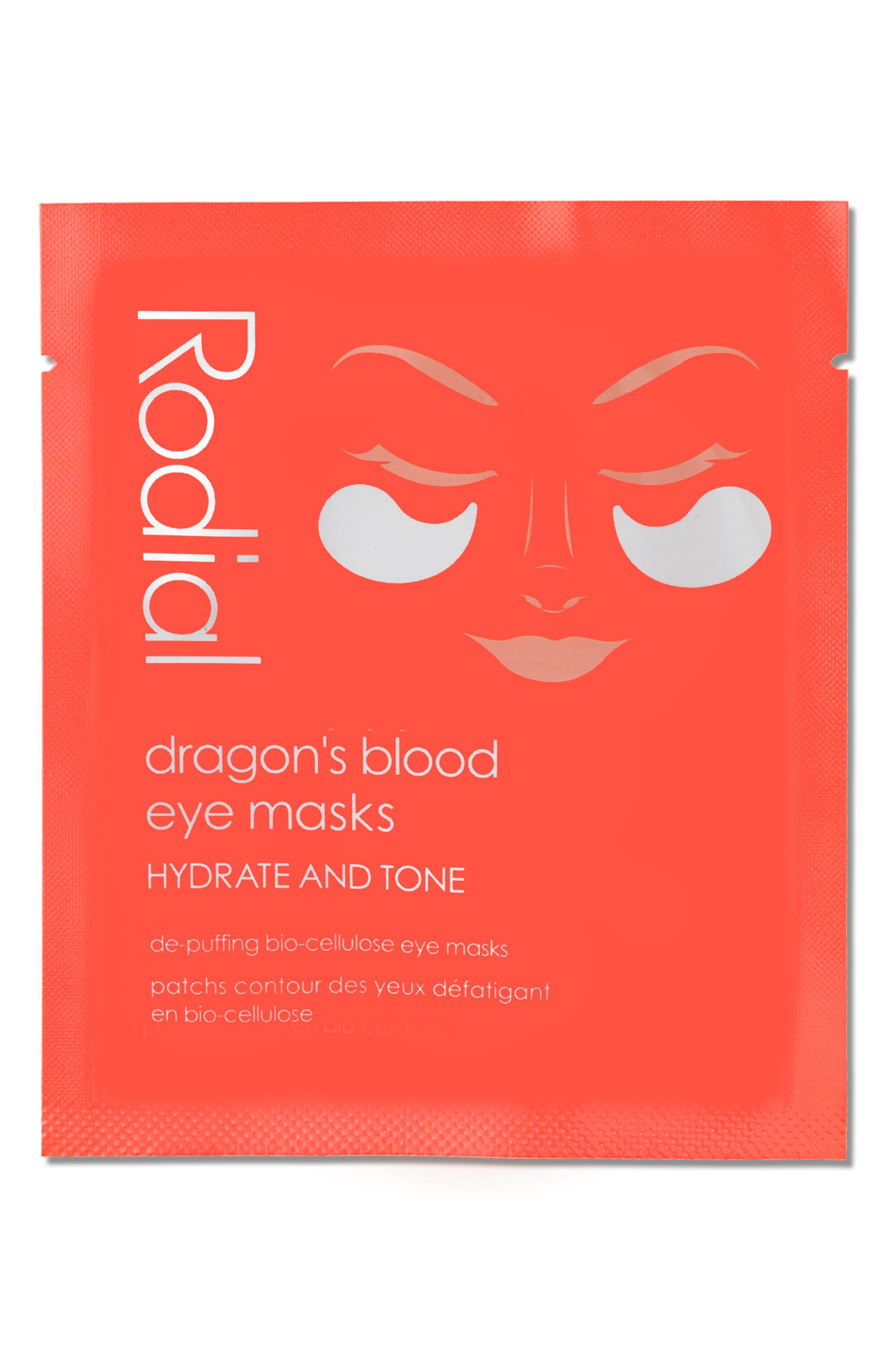 RODIAL, SPACE.NK.apothecary Rodial Dragon's Blood Eye Mask, Main thumbnail 1, color, 000
