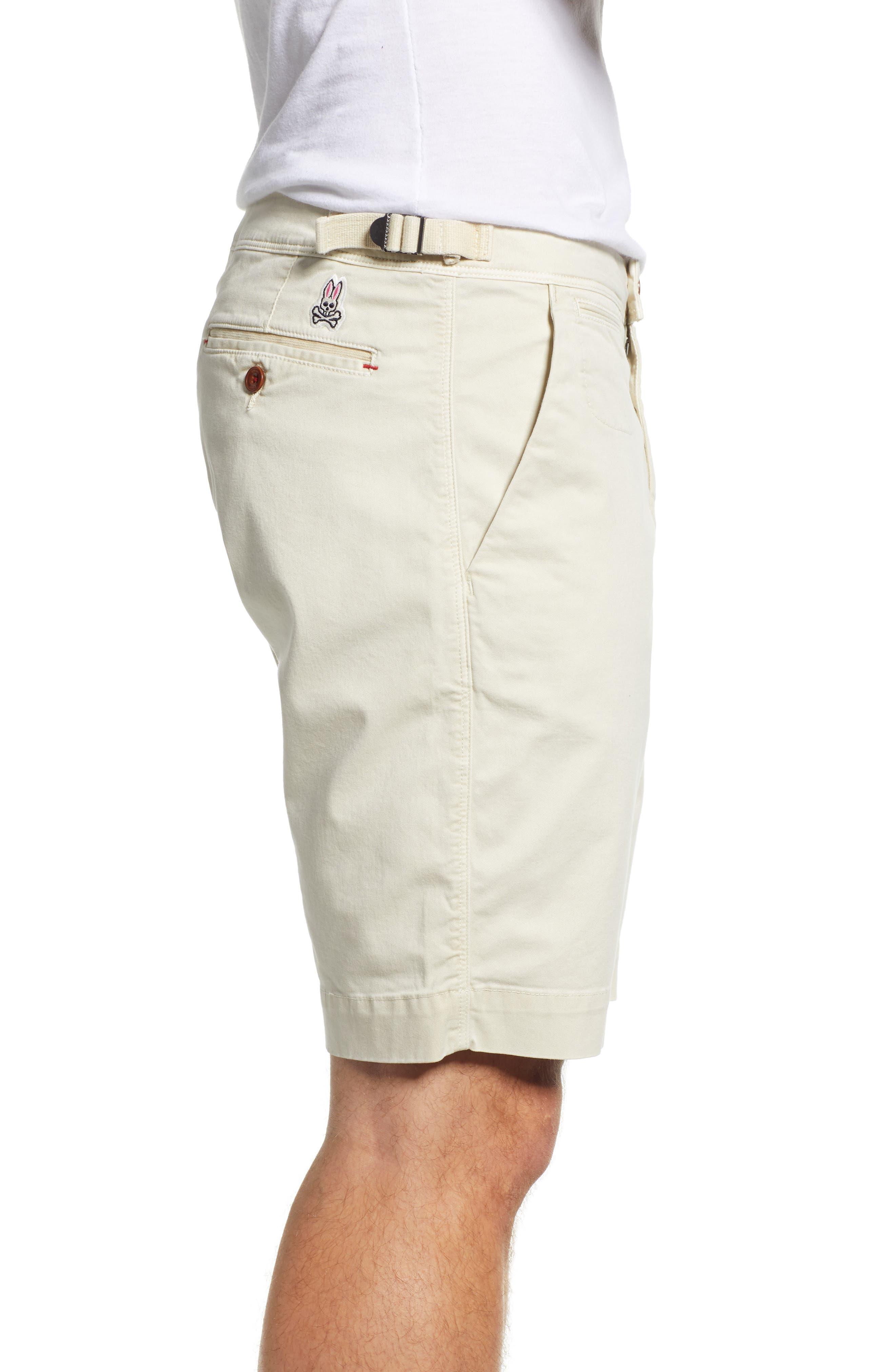 PSYCHO BUNNY, Triumph Shorts, Alternate thumbnail 3, color, 130