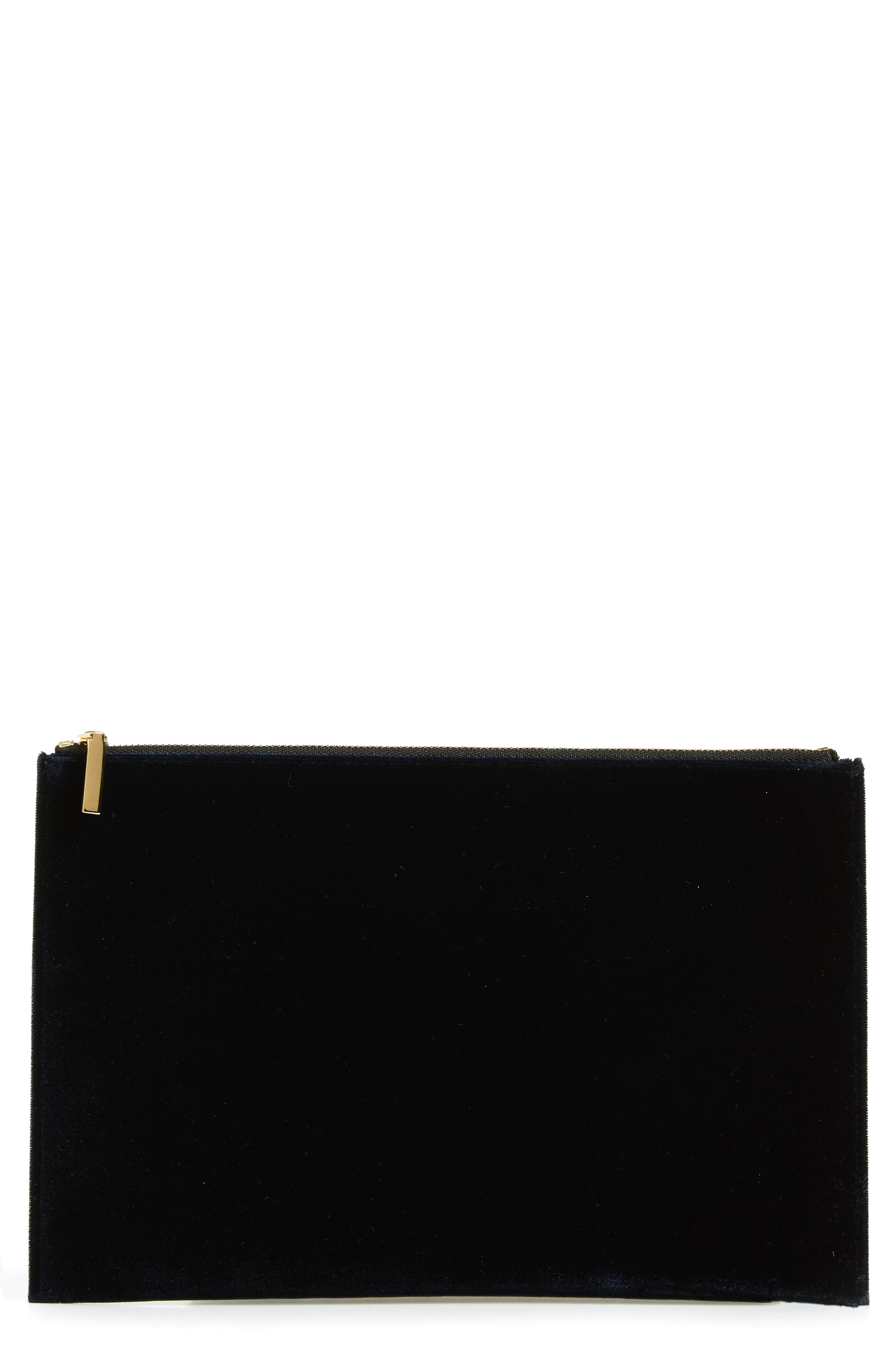 VICTORIA BECKHAM, Small Zip Pouch, Main thumbnail 1, color, 400