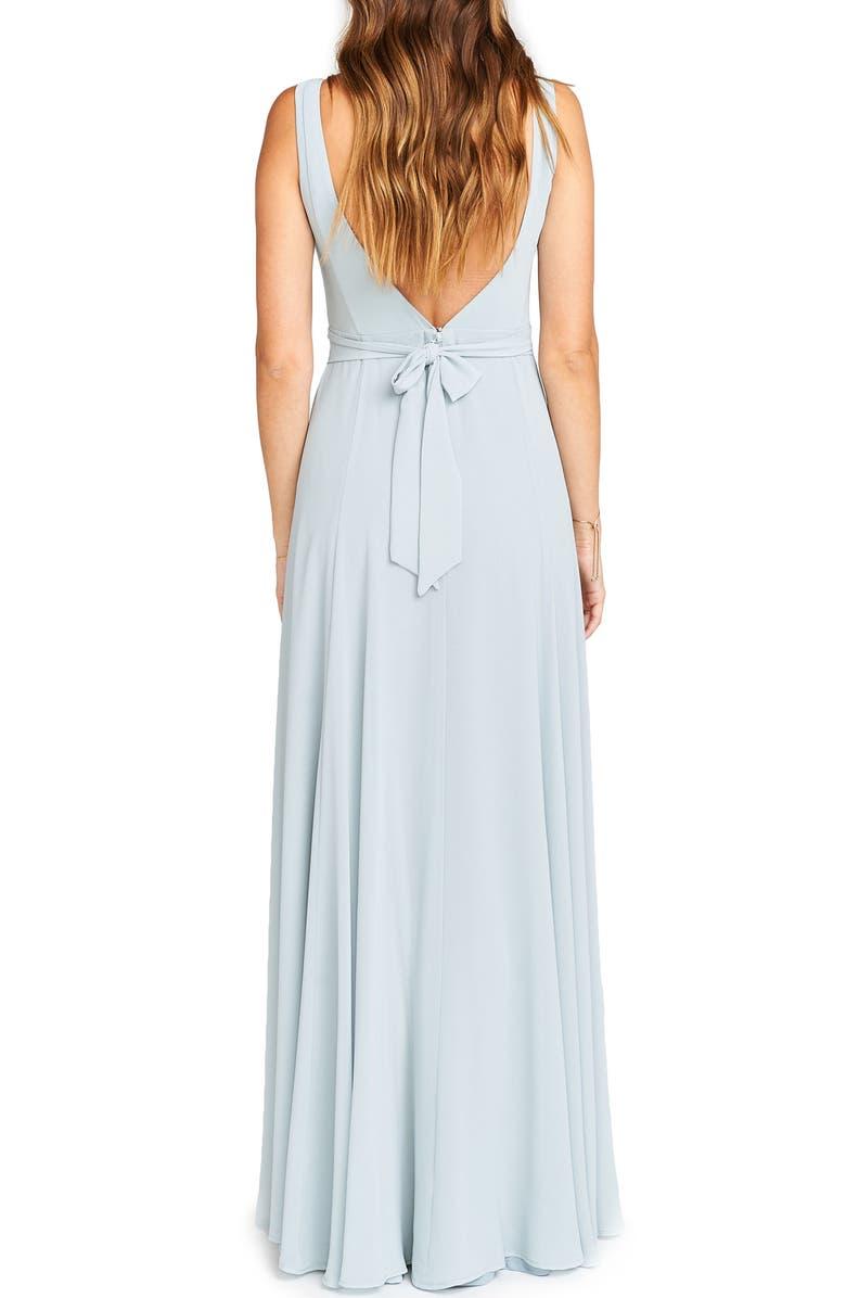f4548b0722c Show Me Your Mumu Jen Maxi Gown In Steel Blue