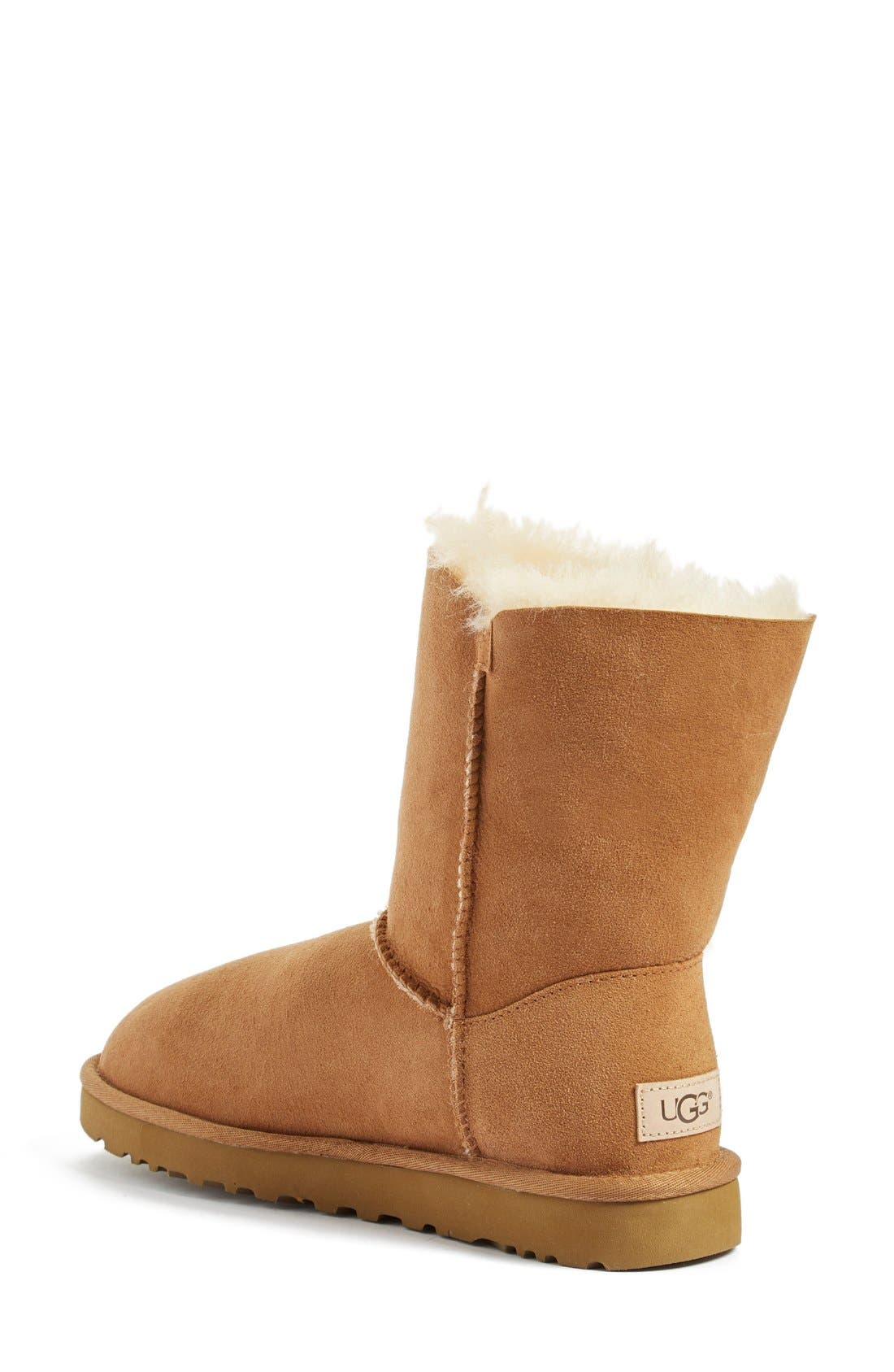 UGG<SUP>®</SUP>, Bailey Button II Boot, Alternate thumbnail 2, color, CHESTNUT SUEDE
