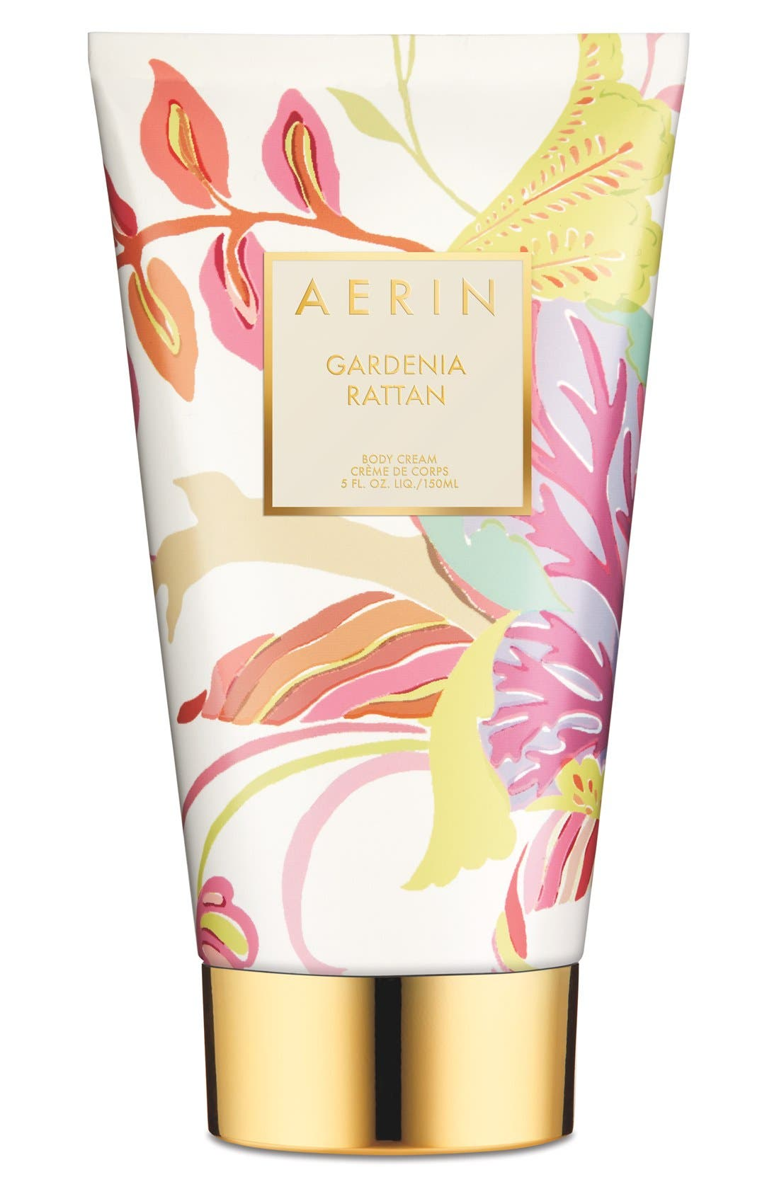 ESTÉE LAUDER, AERIN Beauty Gardenia Rattan Body Cream, Main thumbnail 1, color, NO COLOR