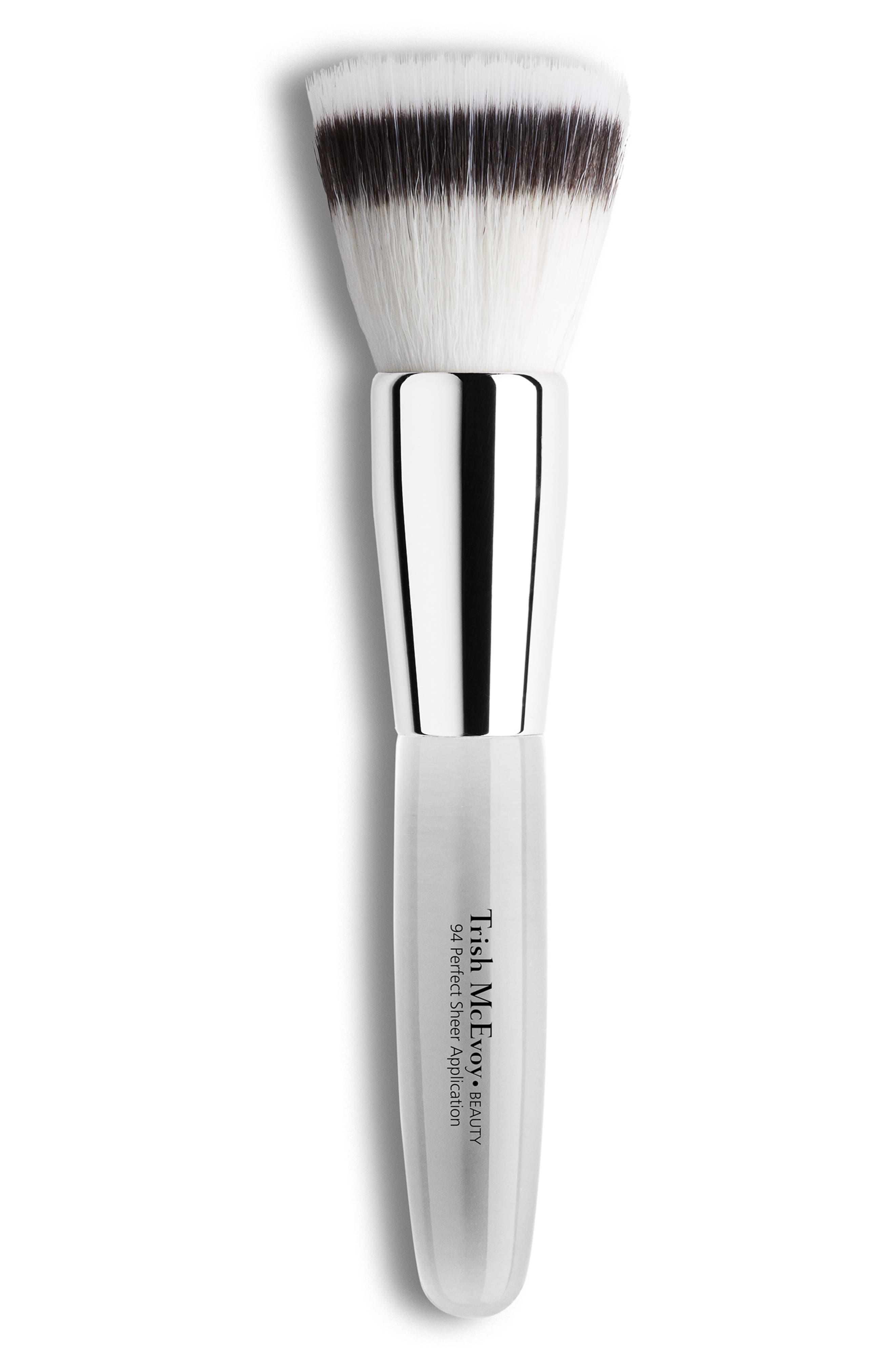 TRISH MCEVOY, #94 Perfect Sheer Application Brush, Main thumbnail 1, color, NO COLOR