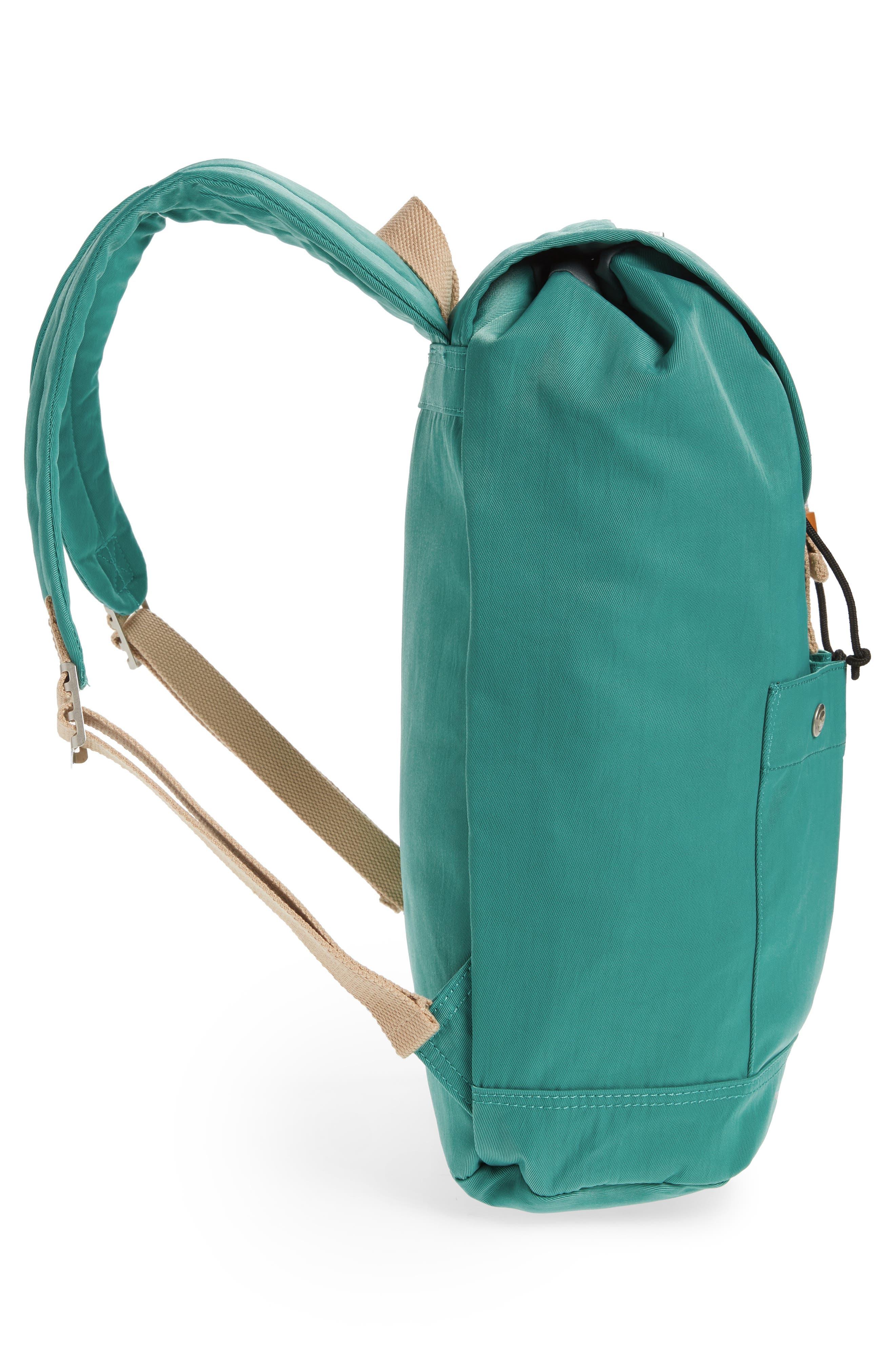 DOUGHNUT, Montana Water Repellent Backpack, Alternate thumbnail 5, color, MINT