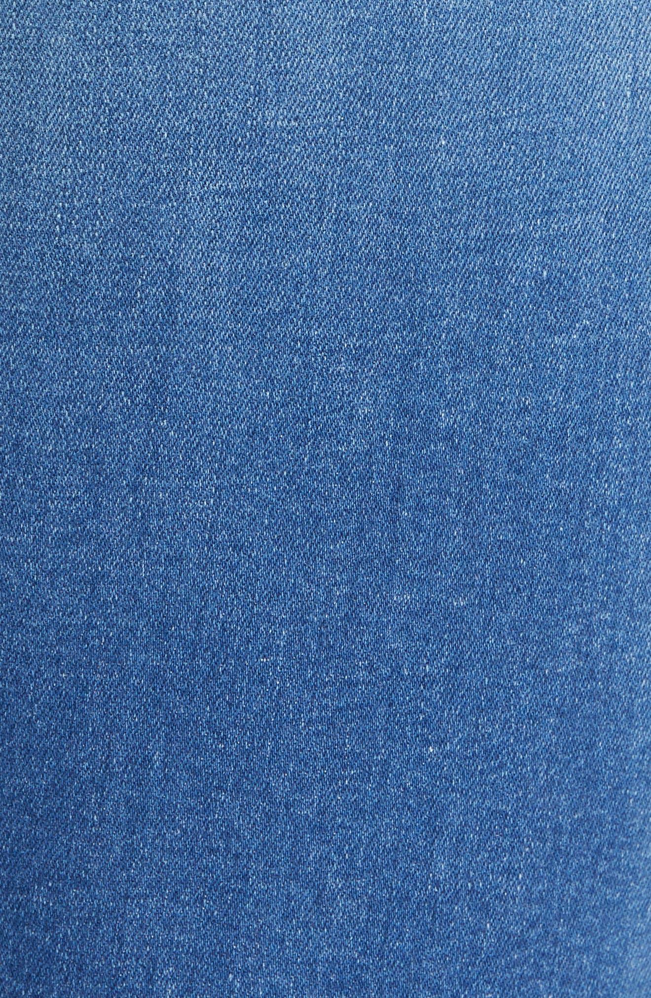 RAG & BONE, Cate High Waist Ankle Skinny Jeans, Alternate thumbnail 6, color, FLINT
