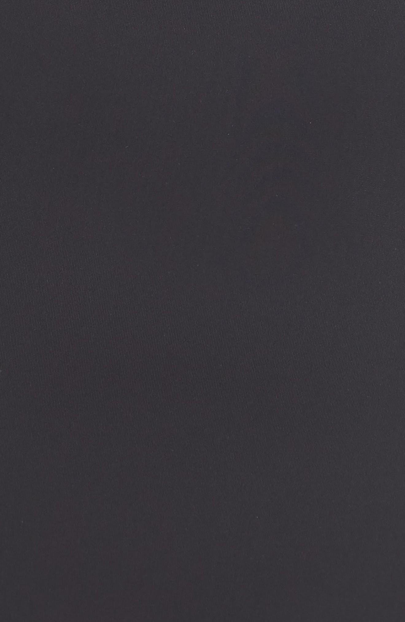 MARA HOFFMAN, Kia Cutout One-Piece Swimsuit, Alternate thumbnail 6, color, BLACK