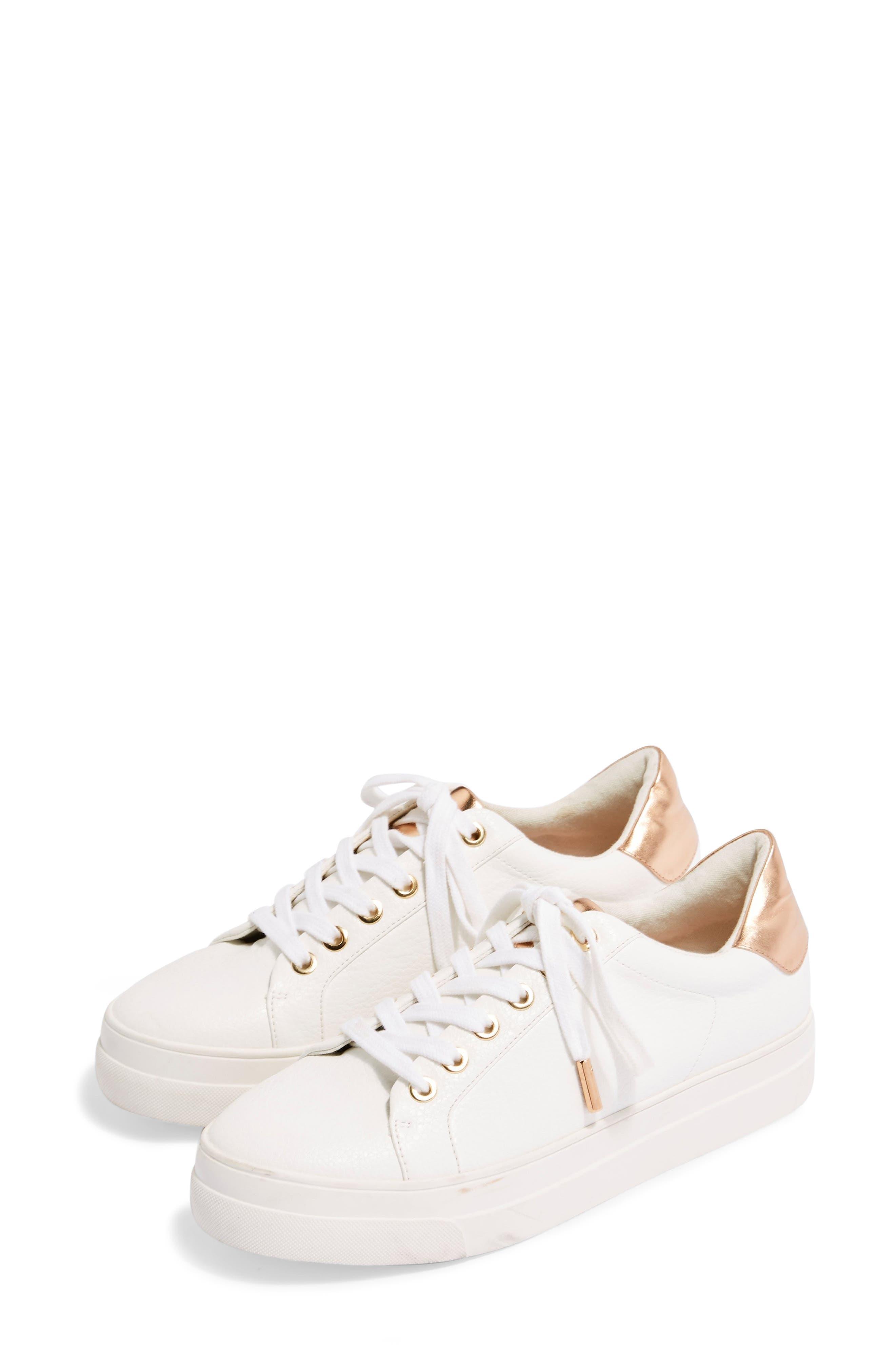 0a96afdaf28 Topshop Candy Platform Sneaker - Metallic