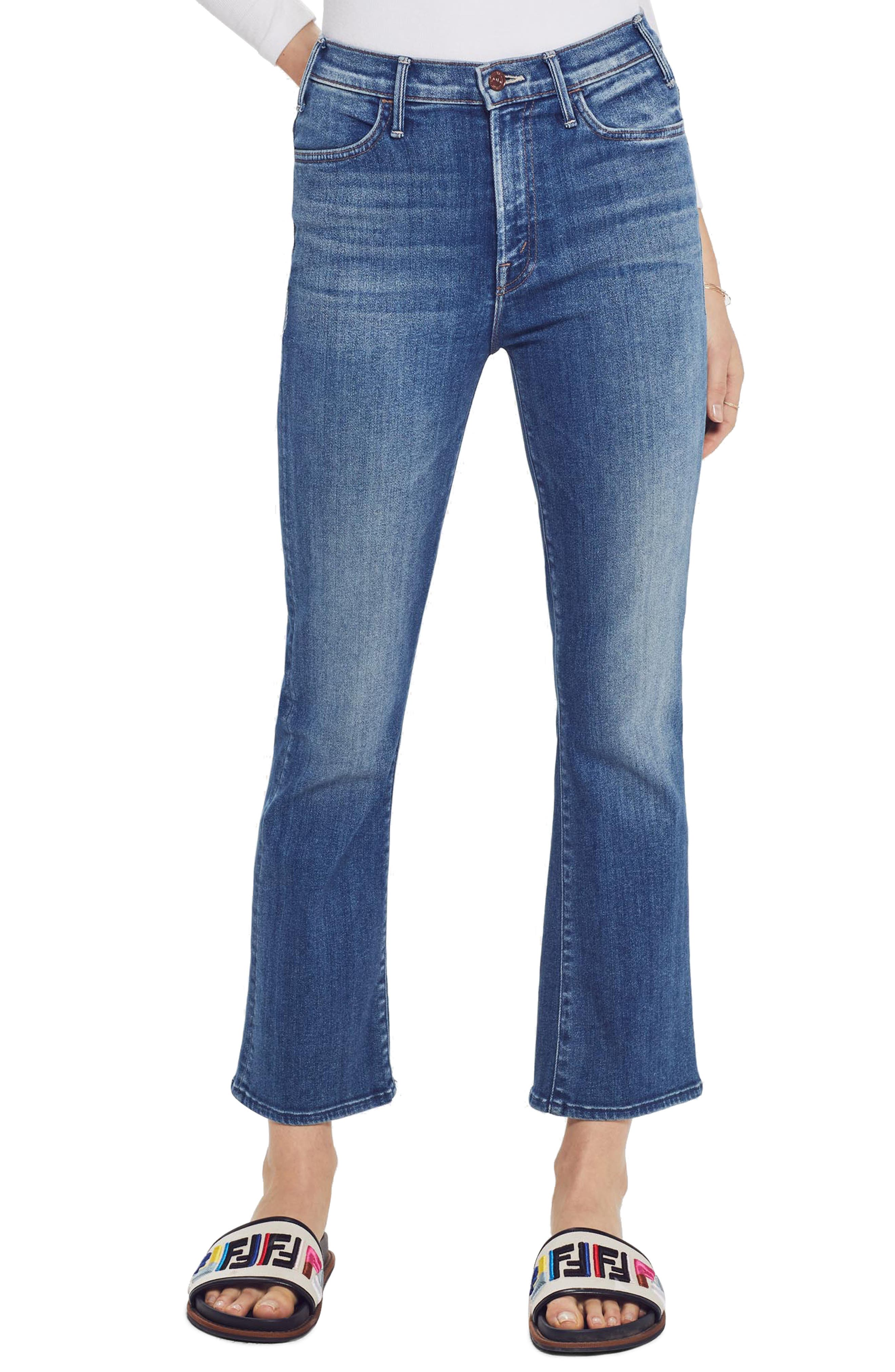 MOTHER The Hustler Ankle Jeans, Main, color, 430