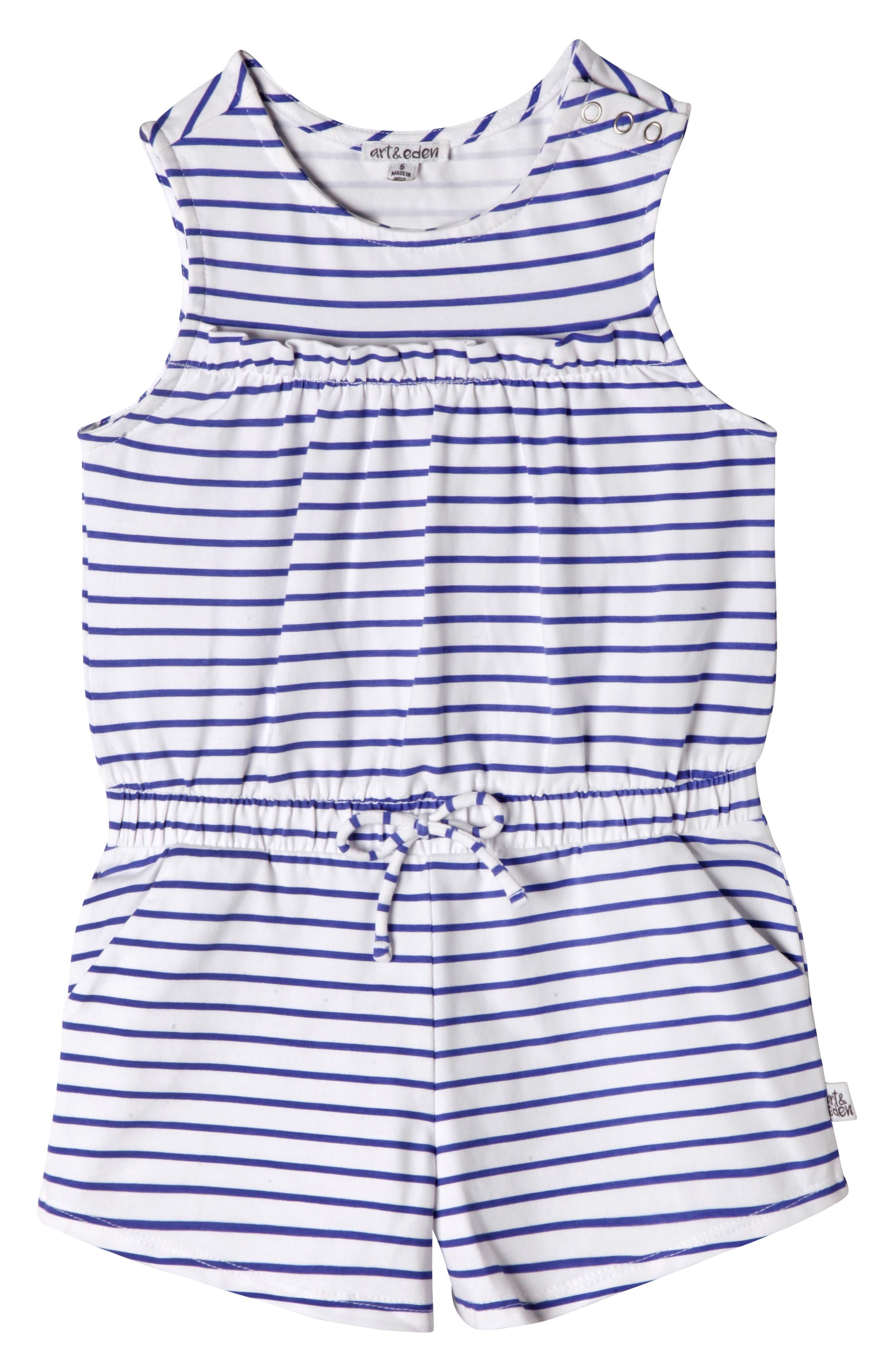 Toddler Girls Art  Eden Nelli Romper Size 2T  Blue