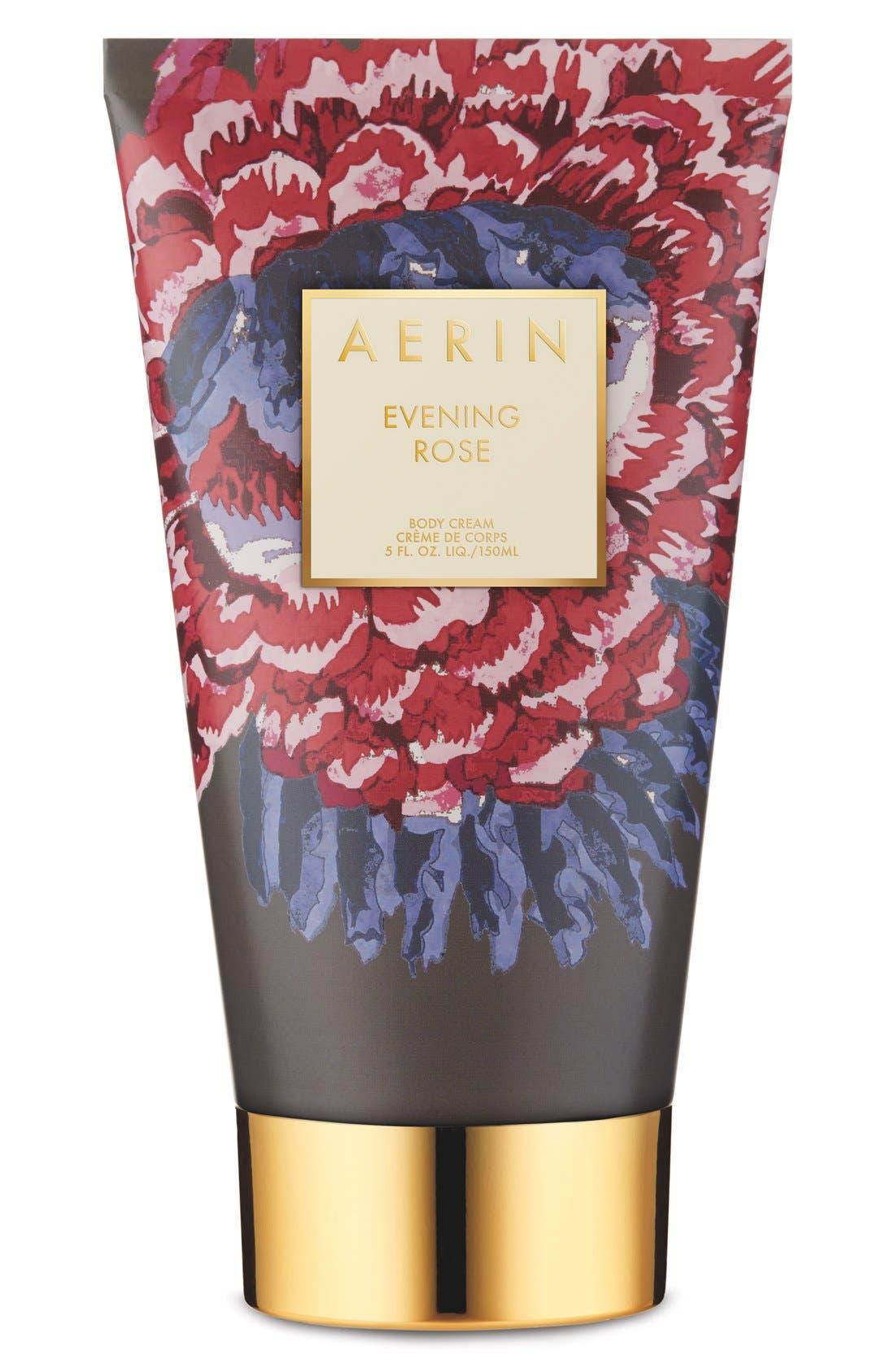 ESTÉE LAUDER AERIN Beauty Evening Rose Body Cream, Main, color, NO COLOR
