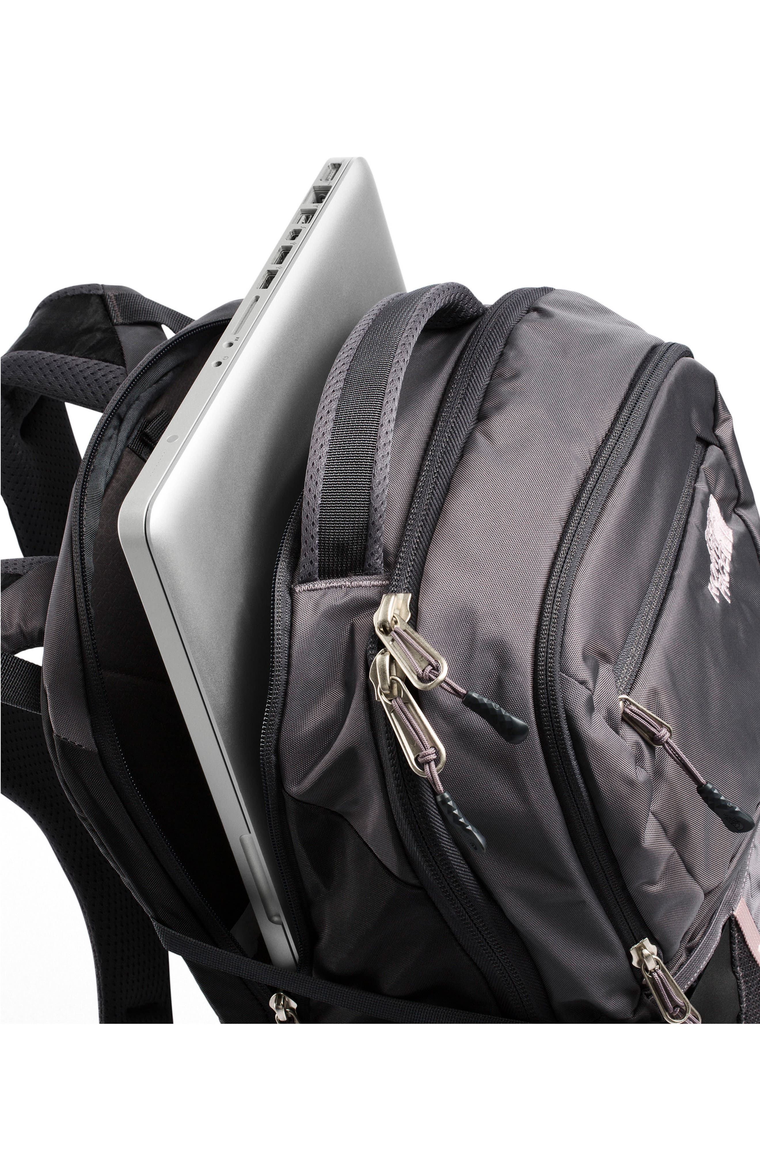 THE NORTH FACE, Recon Backpack, Alternate thumbnail 4, color, RABBIT GREY/ GREY