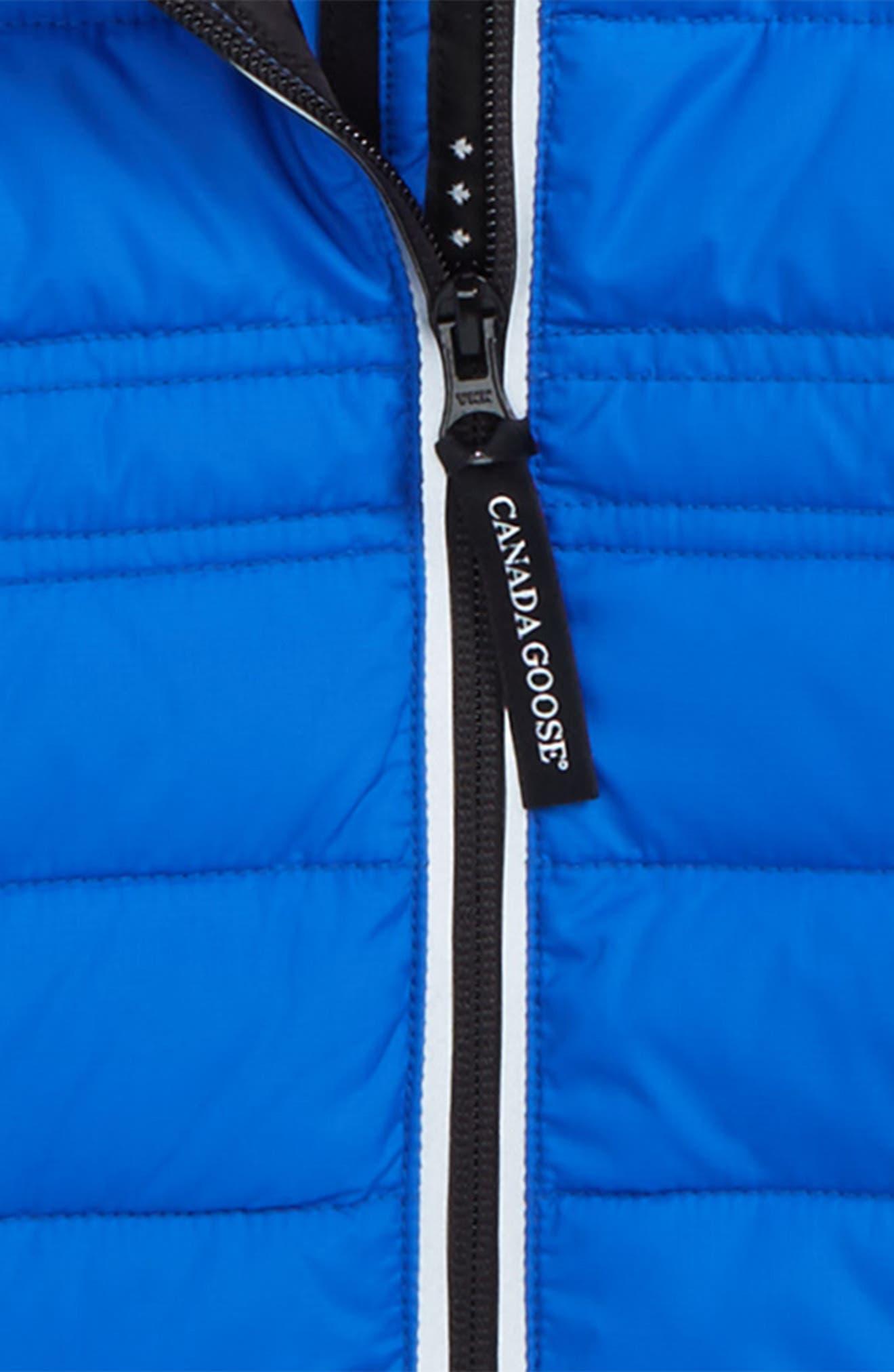 CANADA GOOSE, Bobcat Water Resistant Hooded Down Jacket, Alternate thumbnail 2, color, PBI BLUE