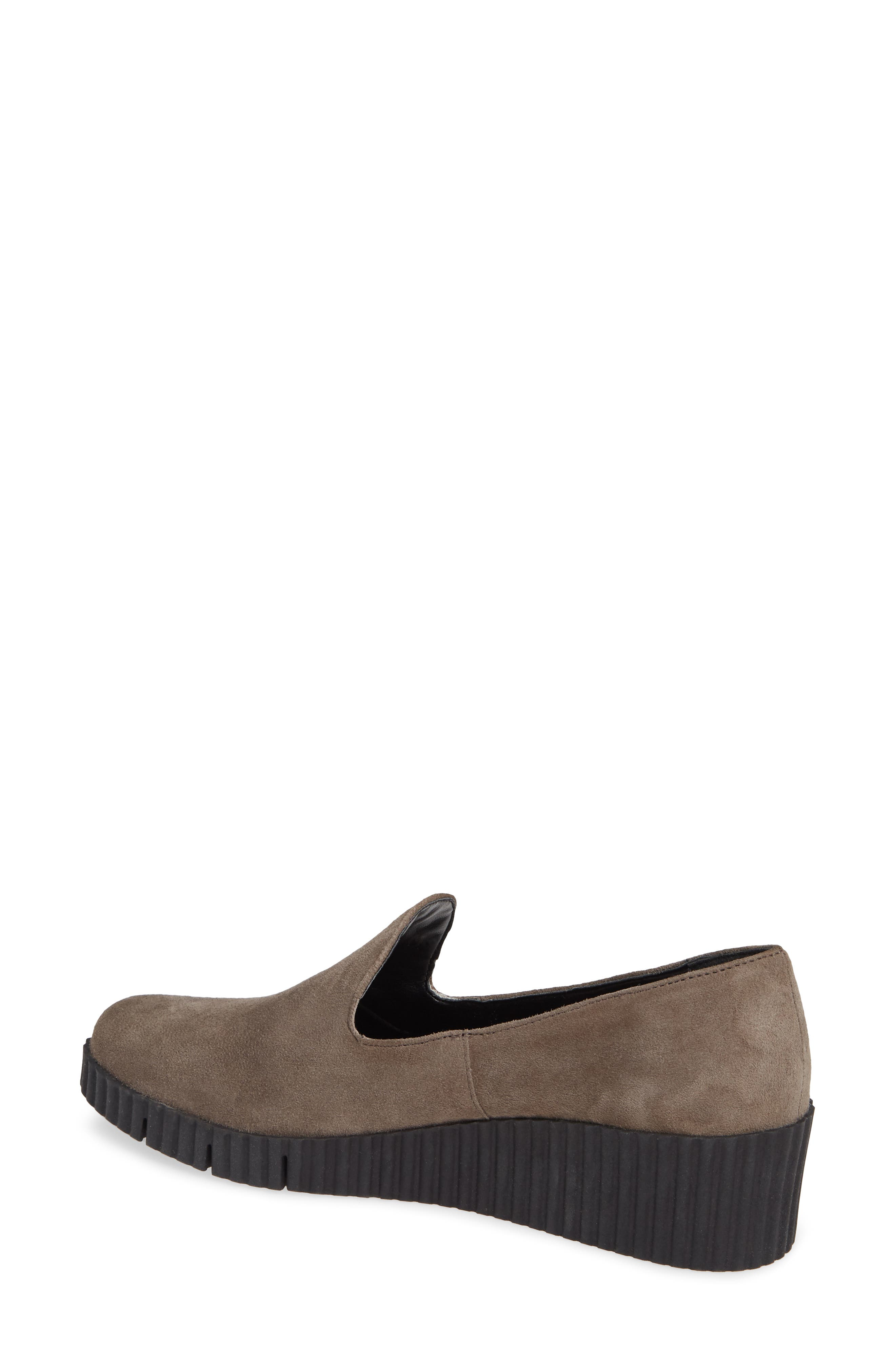 THE FLEXX, Fast Times Loafer, Alternate thumbnail 2, color, BROWN SUEDE