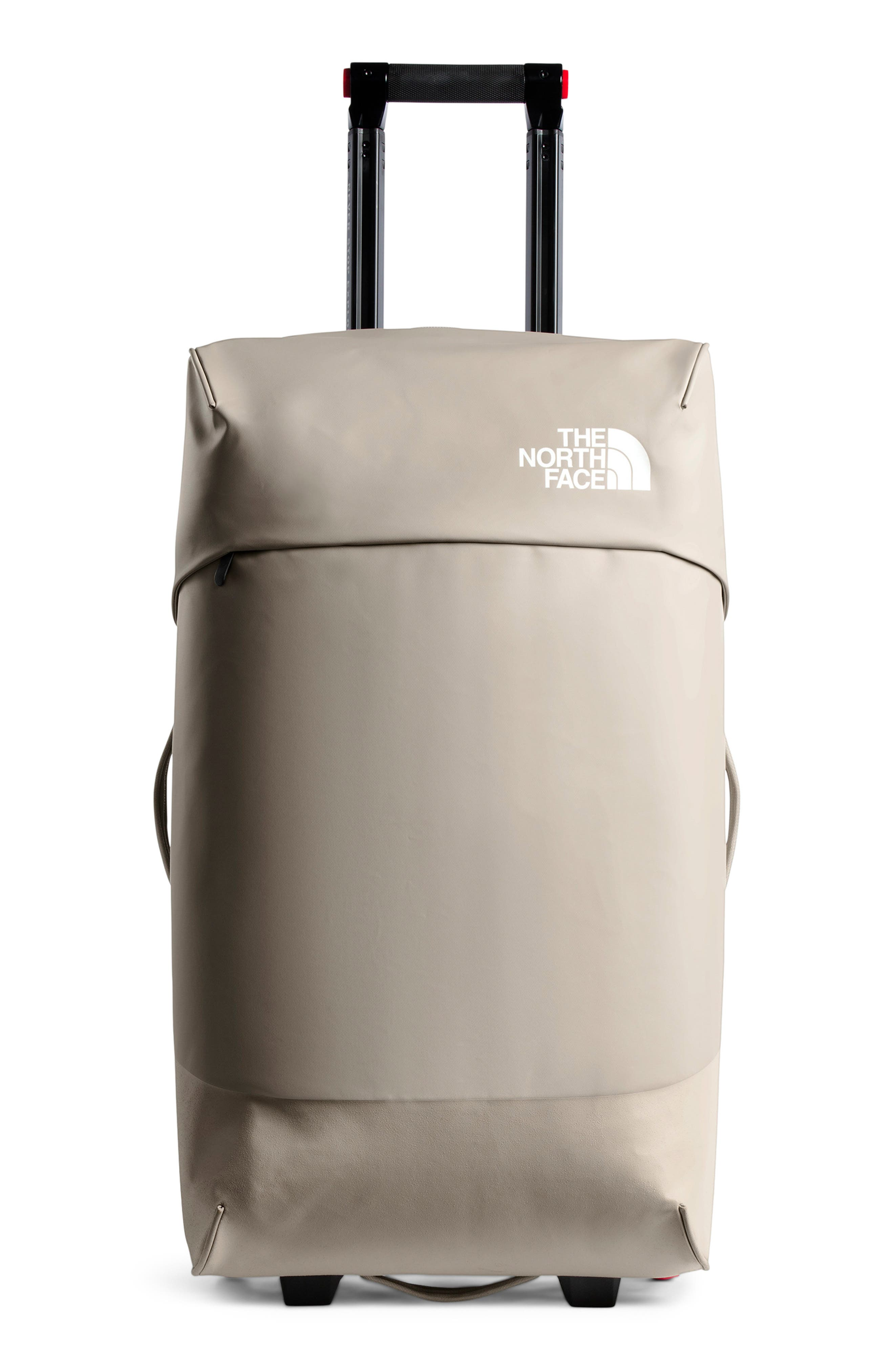 THE NORTH FACE, Stratoliner Large Rolling Suitcase, Main thumbnail 1, color, SILT GREY/MOONSTRUCK GREY