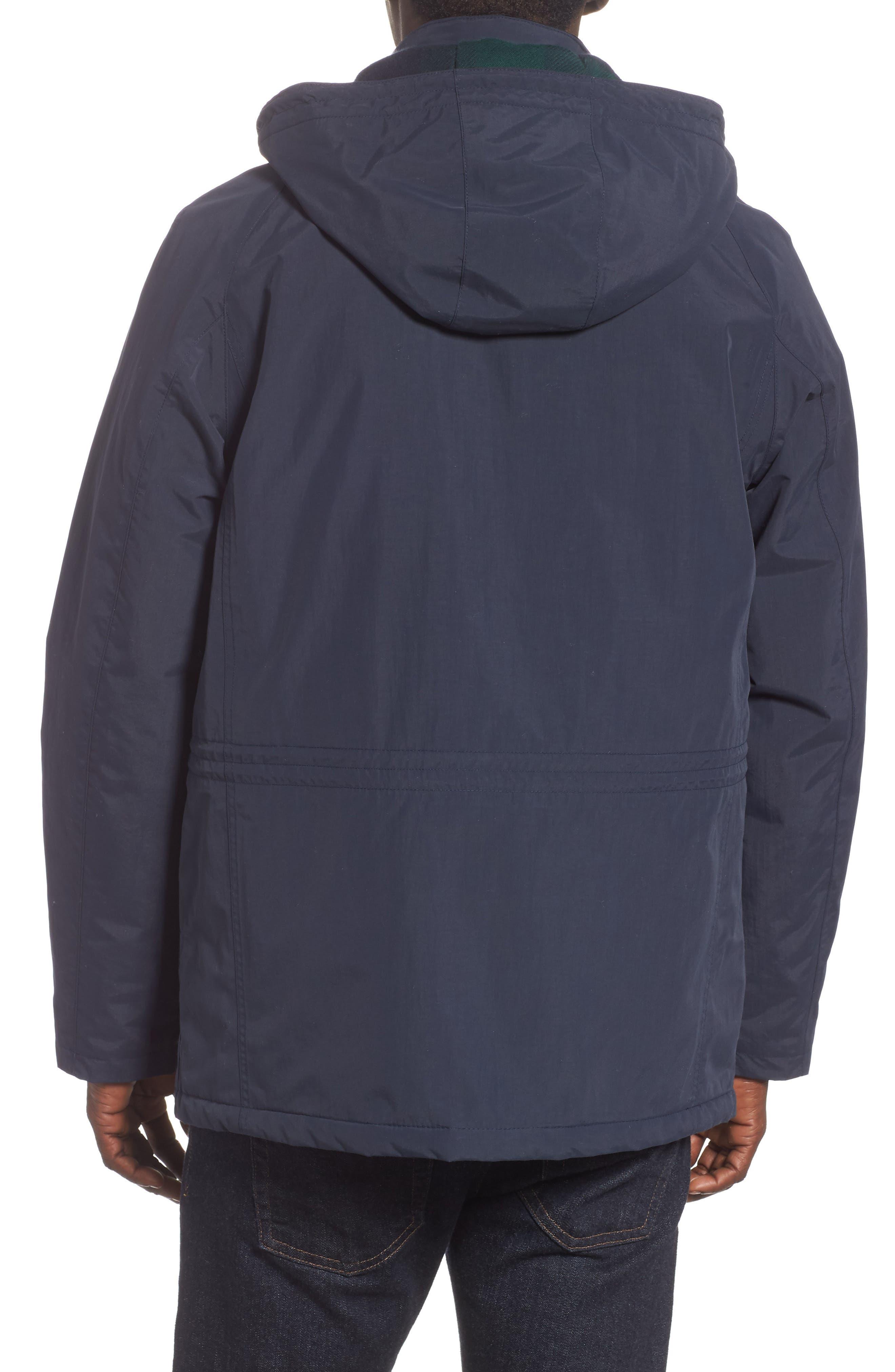 BARBOUR, Tiree Waterproof Jacket, Alternate thumbnail 2, color, 410