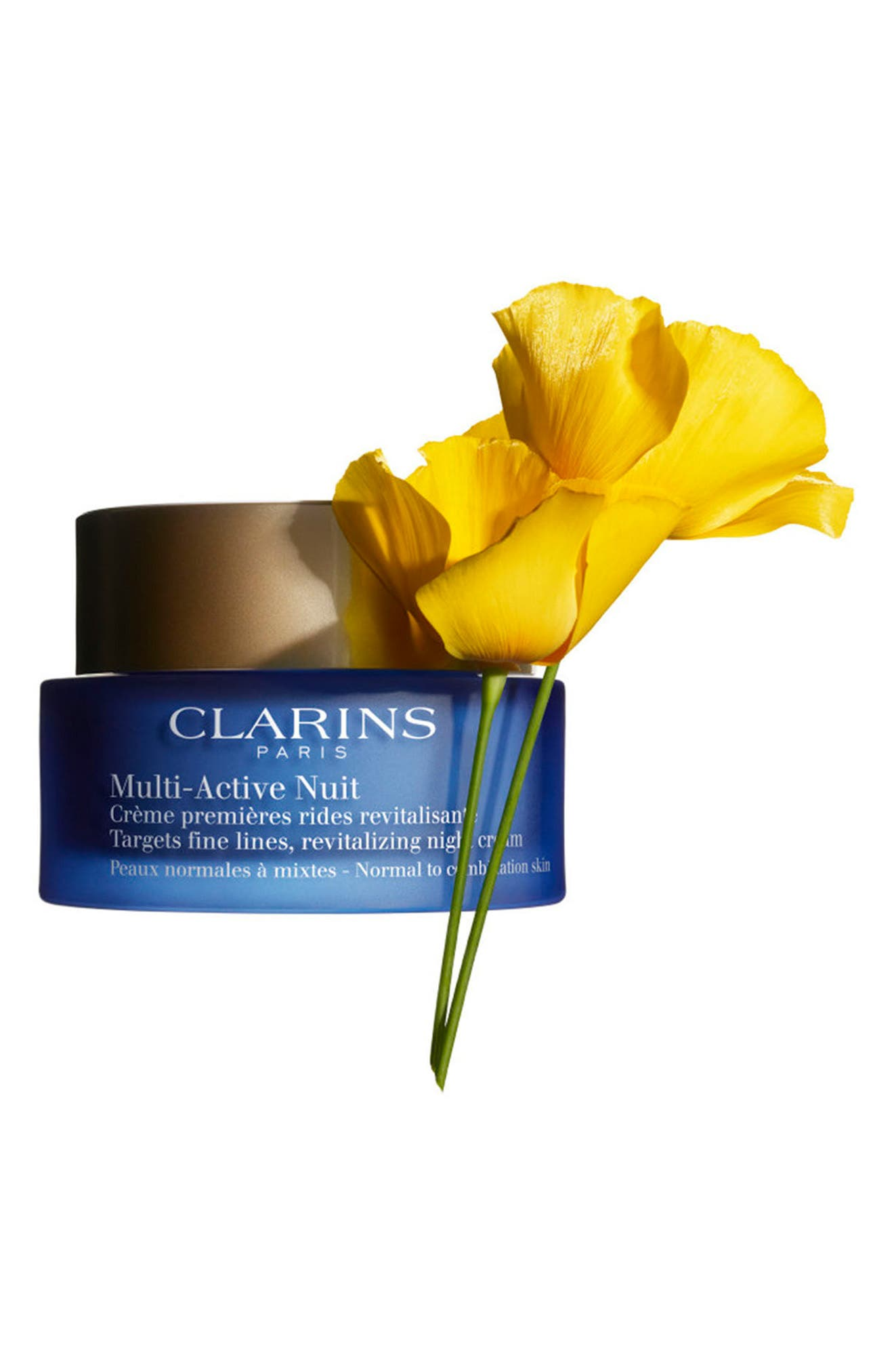 CLARINS, Multi-Active Night Cream for Normal to Combination Skin Types, Alternate thumbnail 2, color, NO COLOR