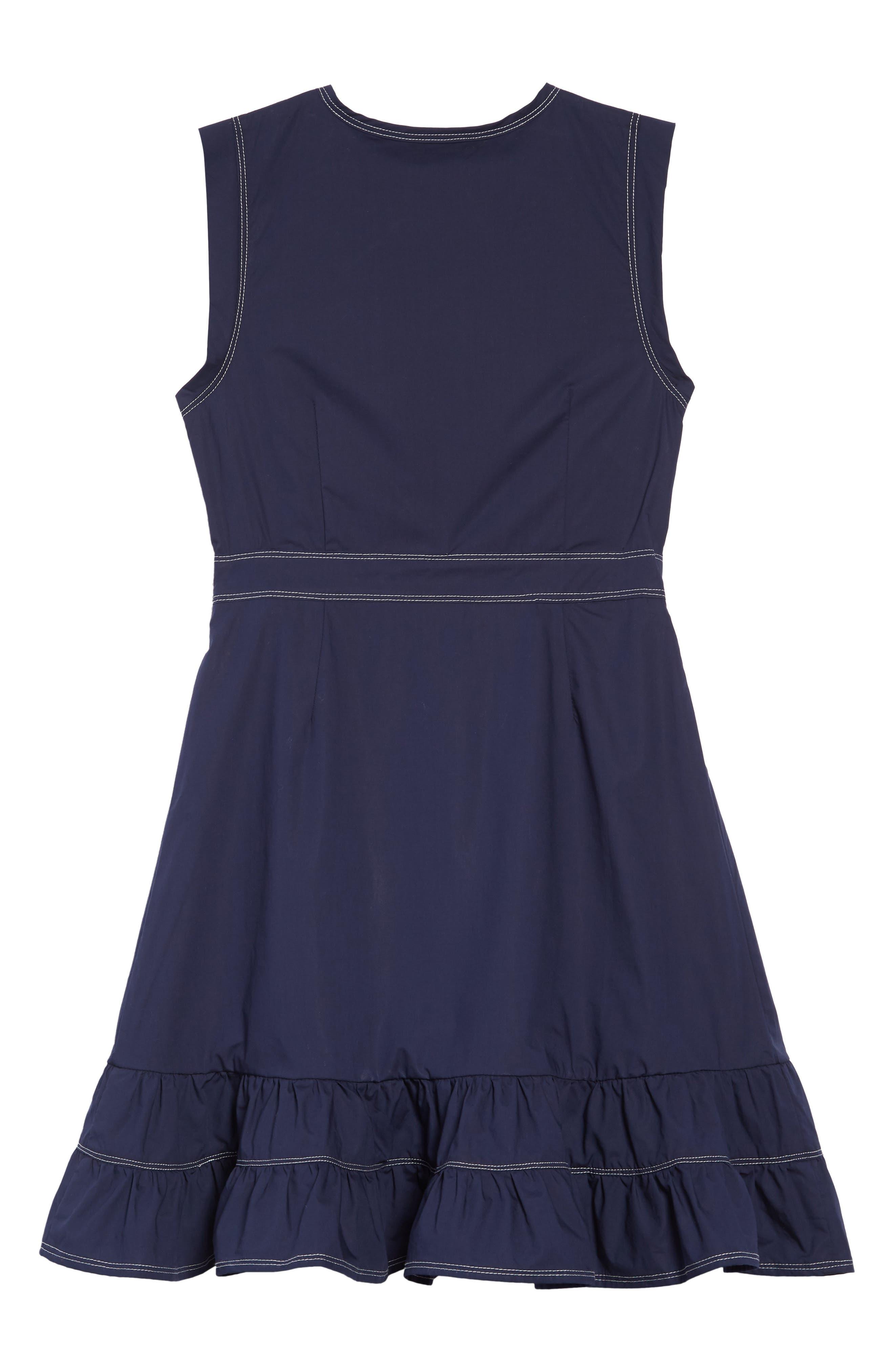 HABITUAL, Vanessa Wrap Dress, Alternate thumbnail 2, color, 410