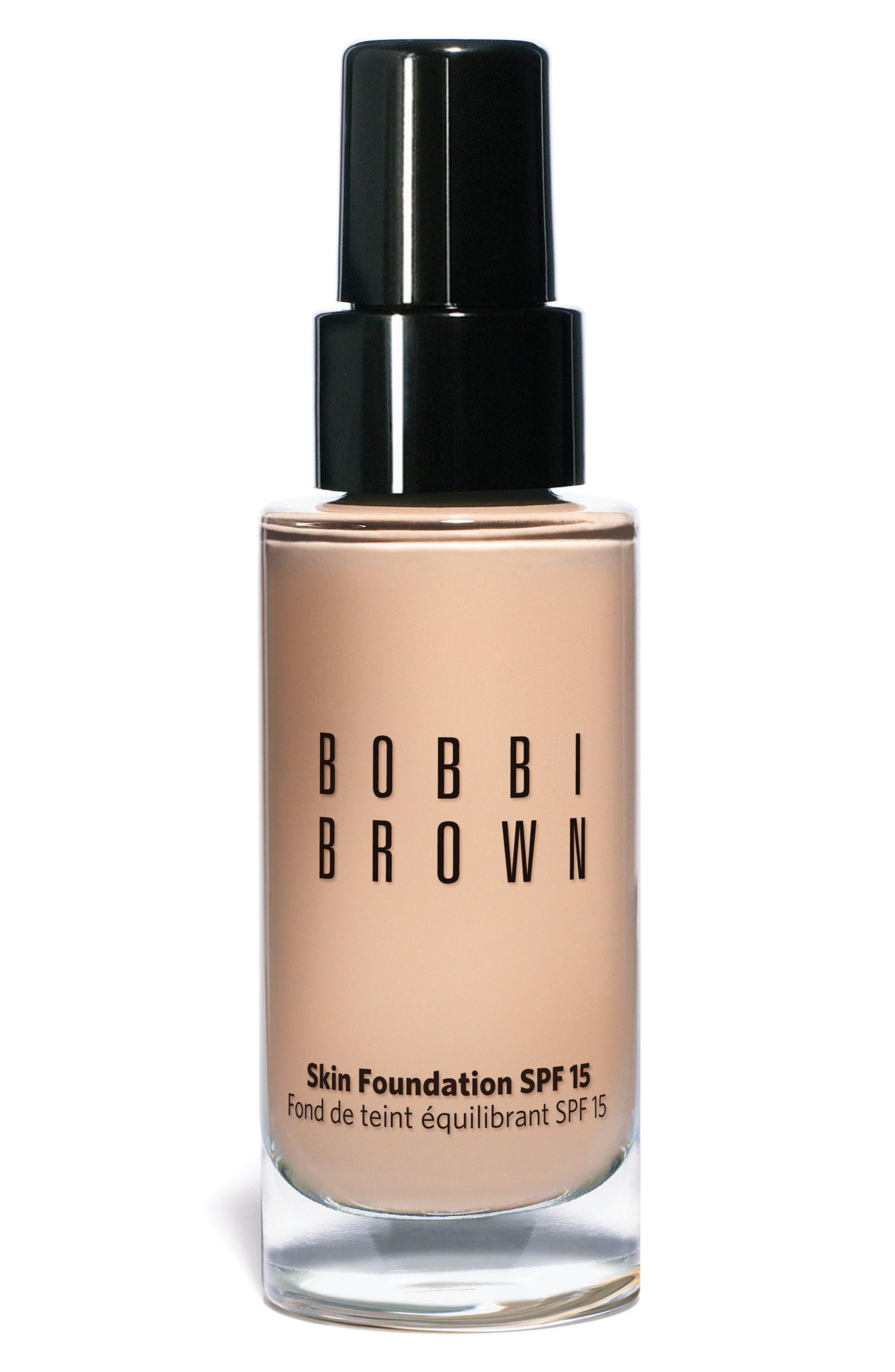 BOBBI BROWN Skin Foundation SPF 15, Main, color, #.00 ALABASTER