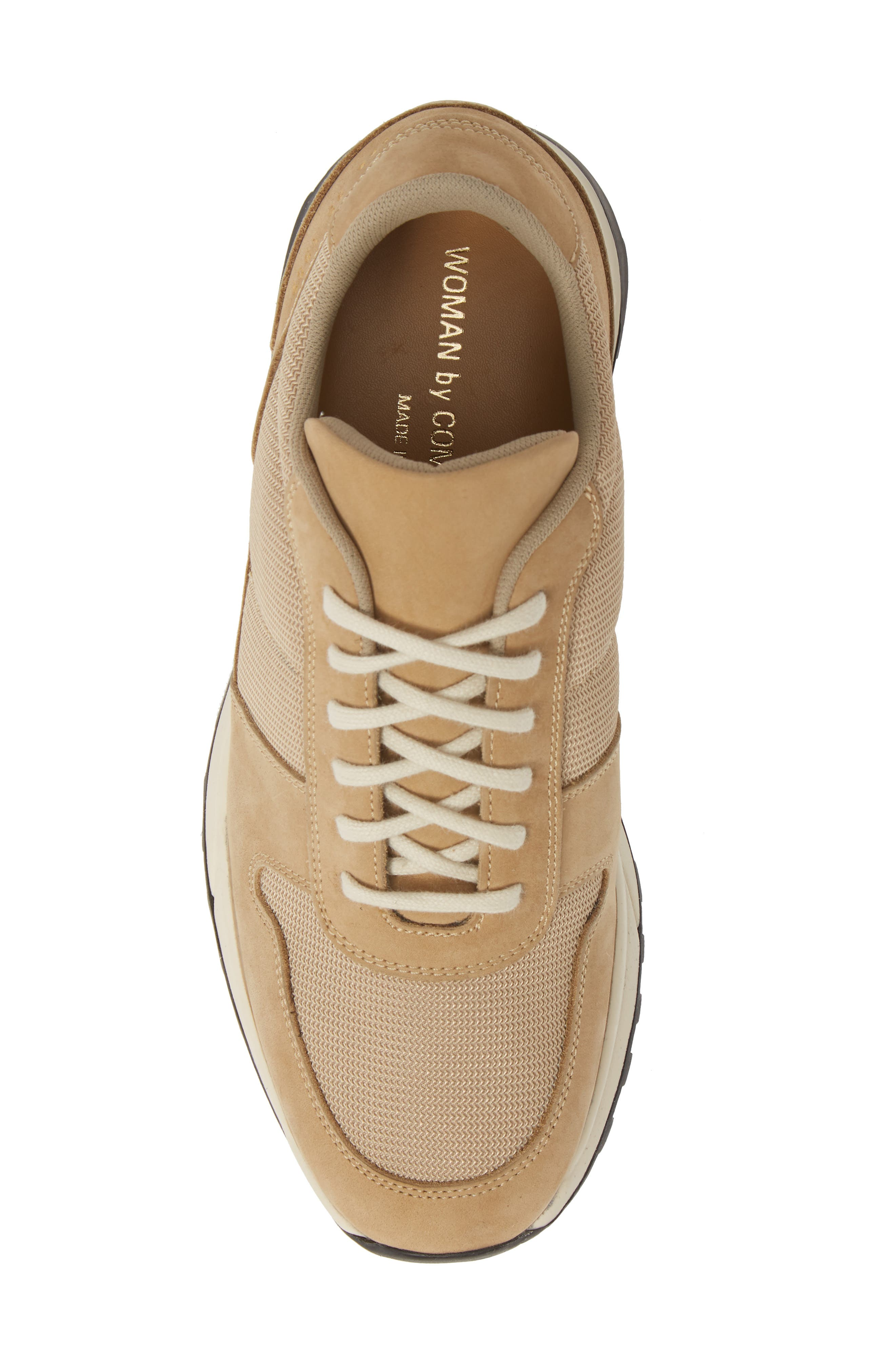 COMMON PROJECTS, Track Vintage Sneaker, Alternate thumbnail 5, color, TAN