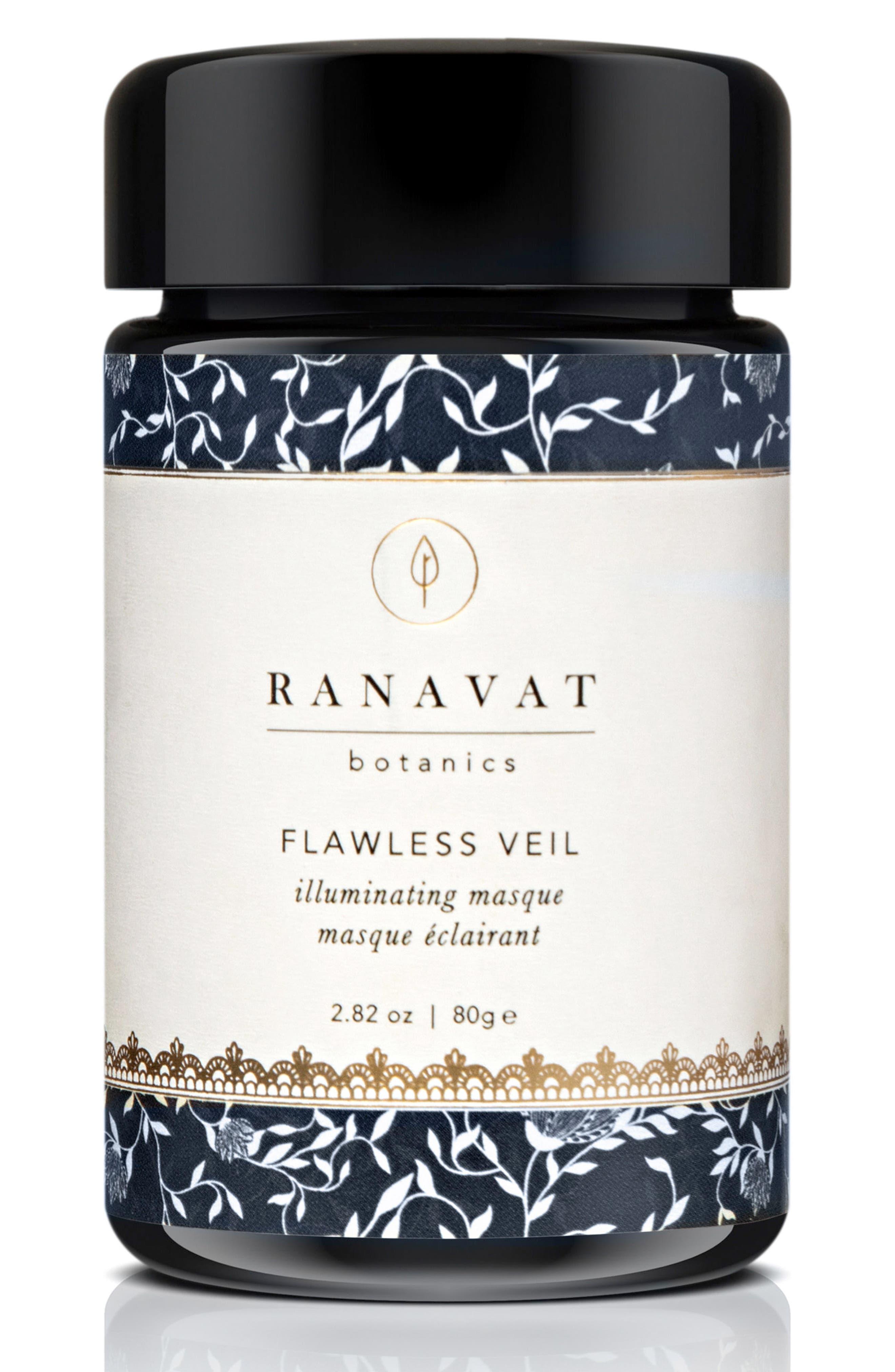 RANAVAT BOTANICS Flawless Veil Illuminating Masque, Main, color, NO COLOR