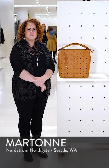 Large Klara Visetos Coated Canvas Hobo, sales video thumbnail