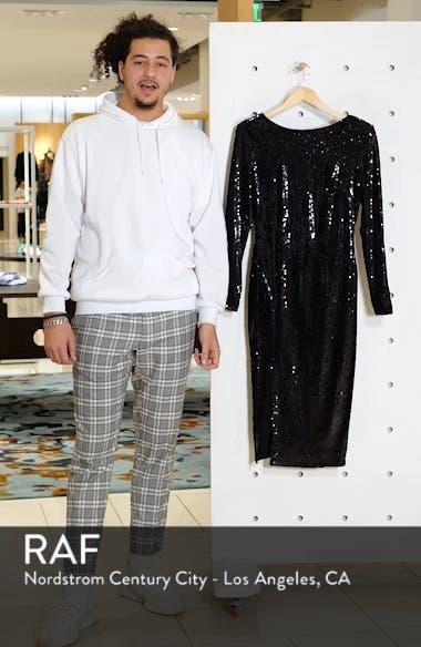 Natalie Sequin Sheath Dress, sales video thumbnail