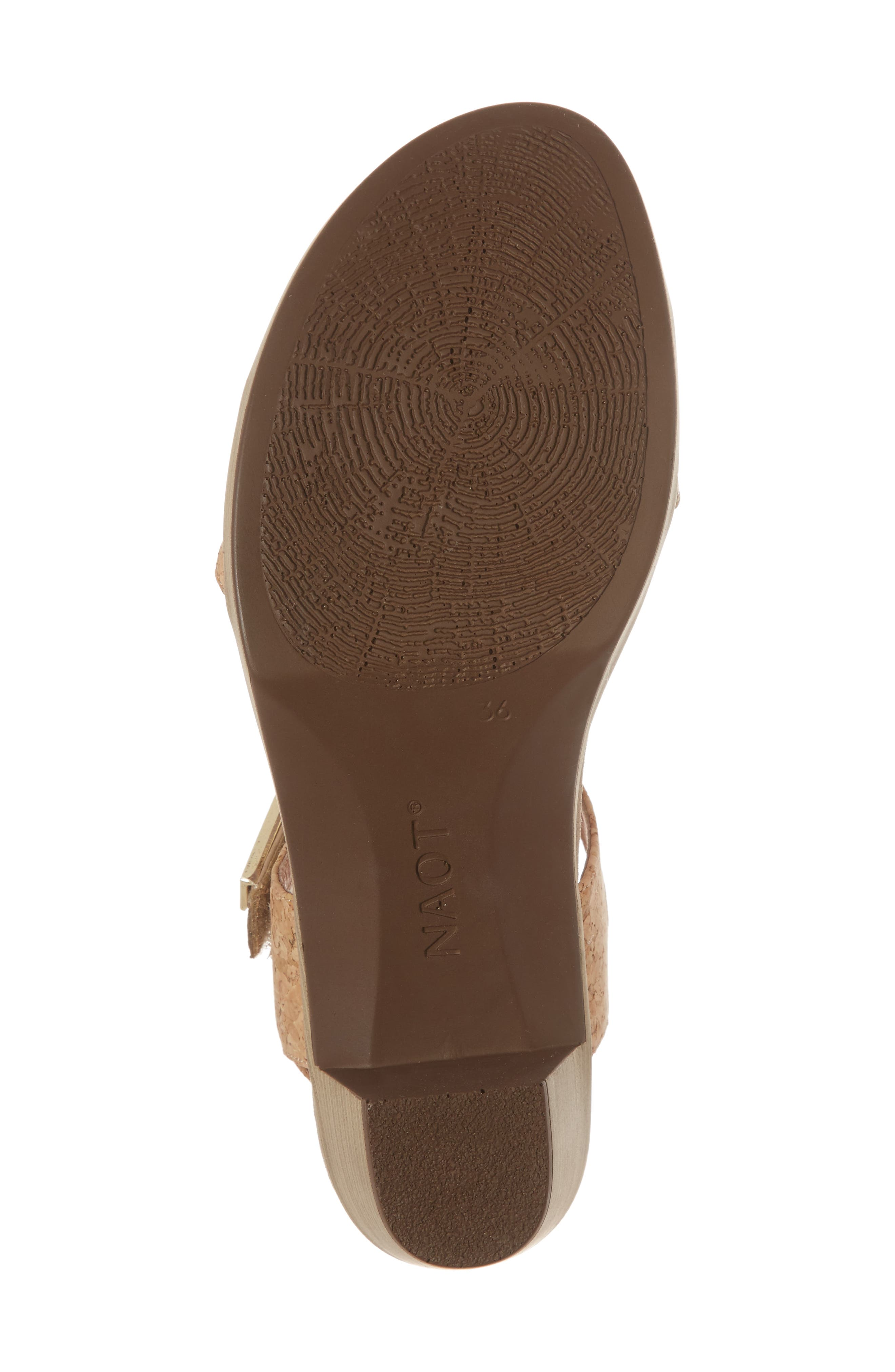NAOT, 'Intact' Sandal, Alternate thumbnail 6, color, CHAMPAGNE LEATHER