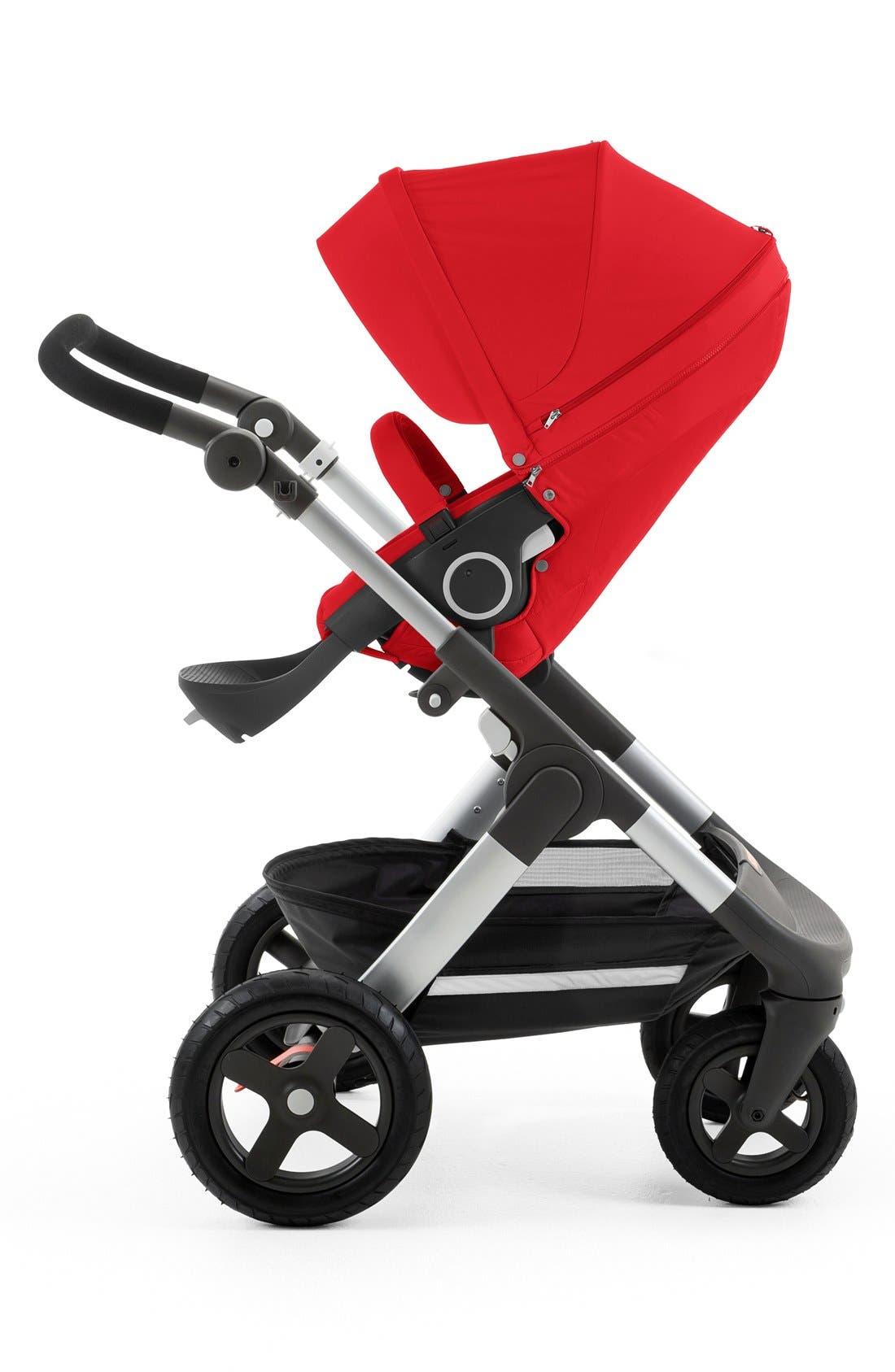 STOKKE, Trailz<sup>™</sup> All Terrain Stroller, Alternate thumbnail 4, color, RED