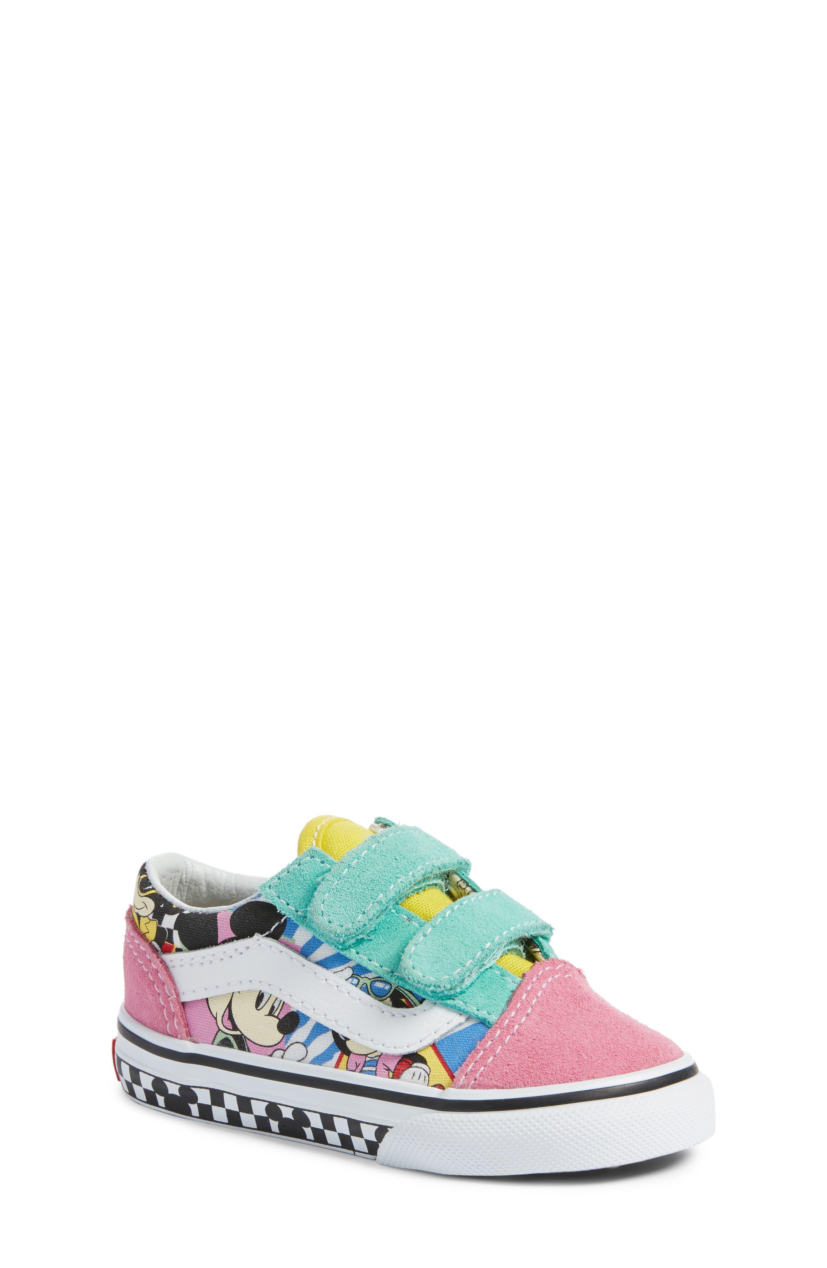 VANS, x Disney Old Skool V Sneaker, Main thumbnail 1, color, 650