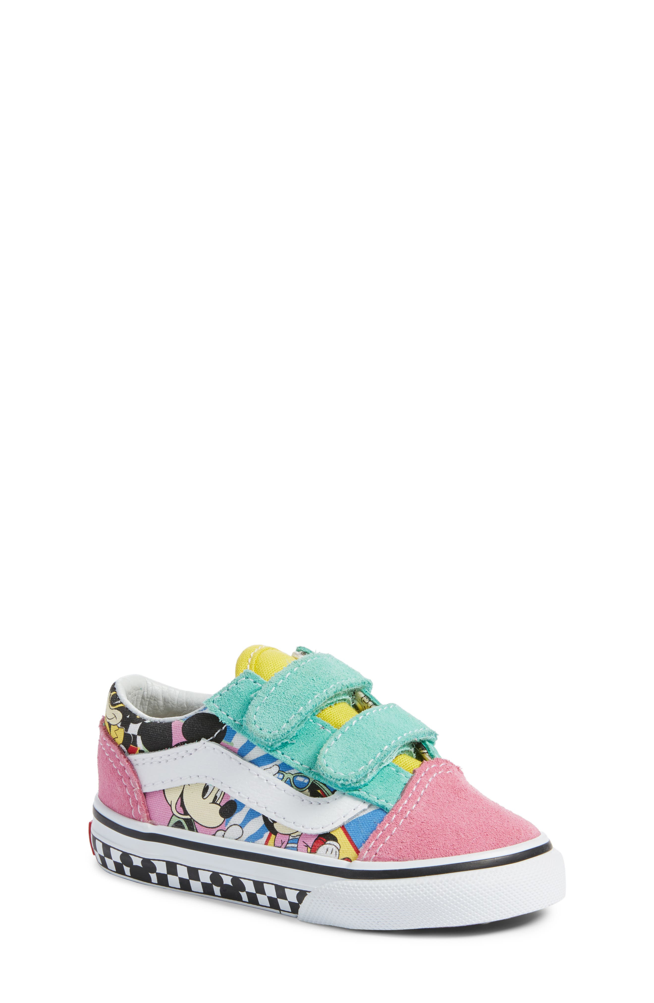 VANS x Disney Old Skool V Sneaker, Main, color, 650
