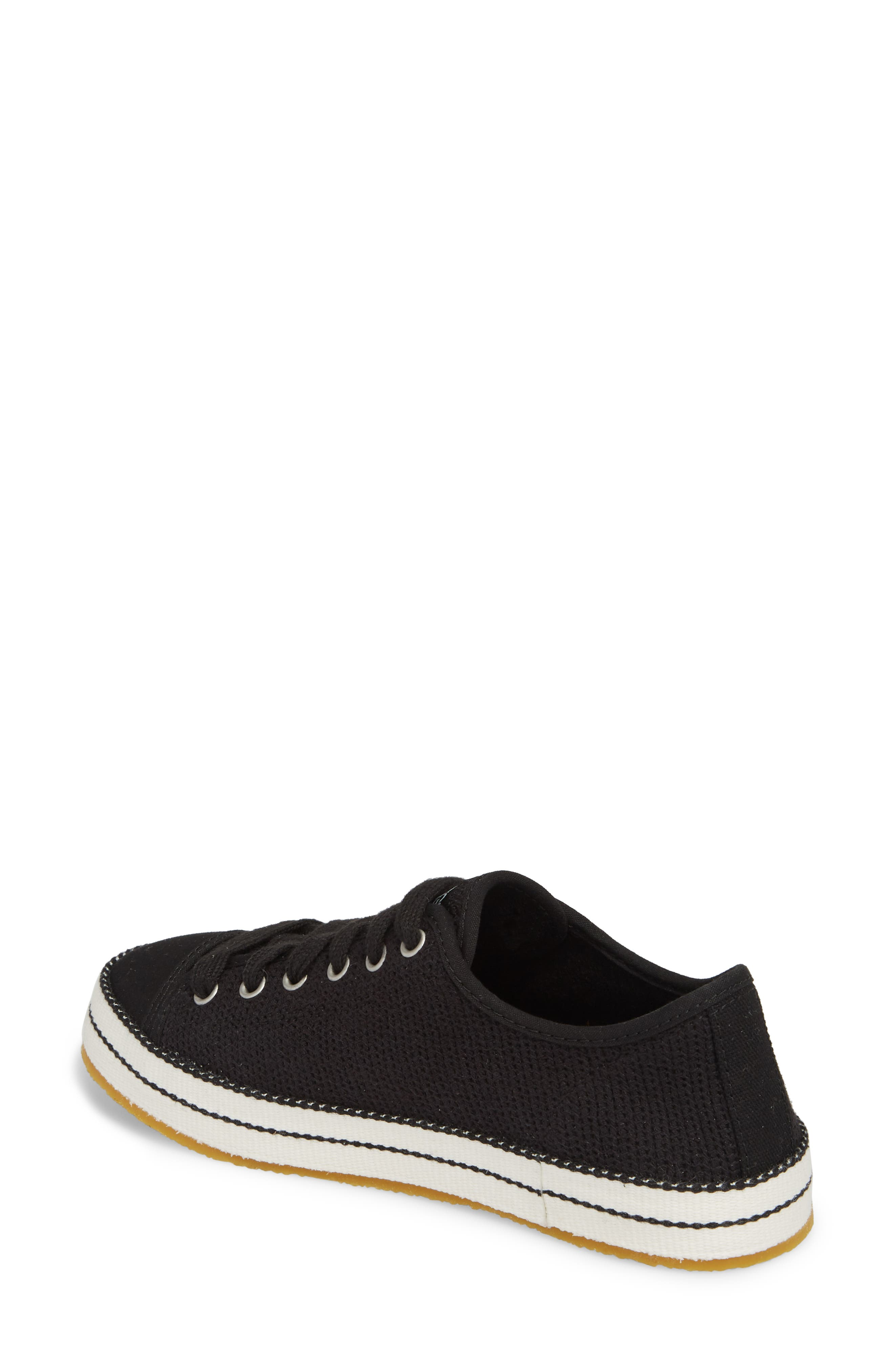 UGG<SUP>®</SUP>, Claudi Sneaker, Alternate thumbnail 2, color, BLACK