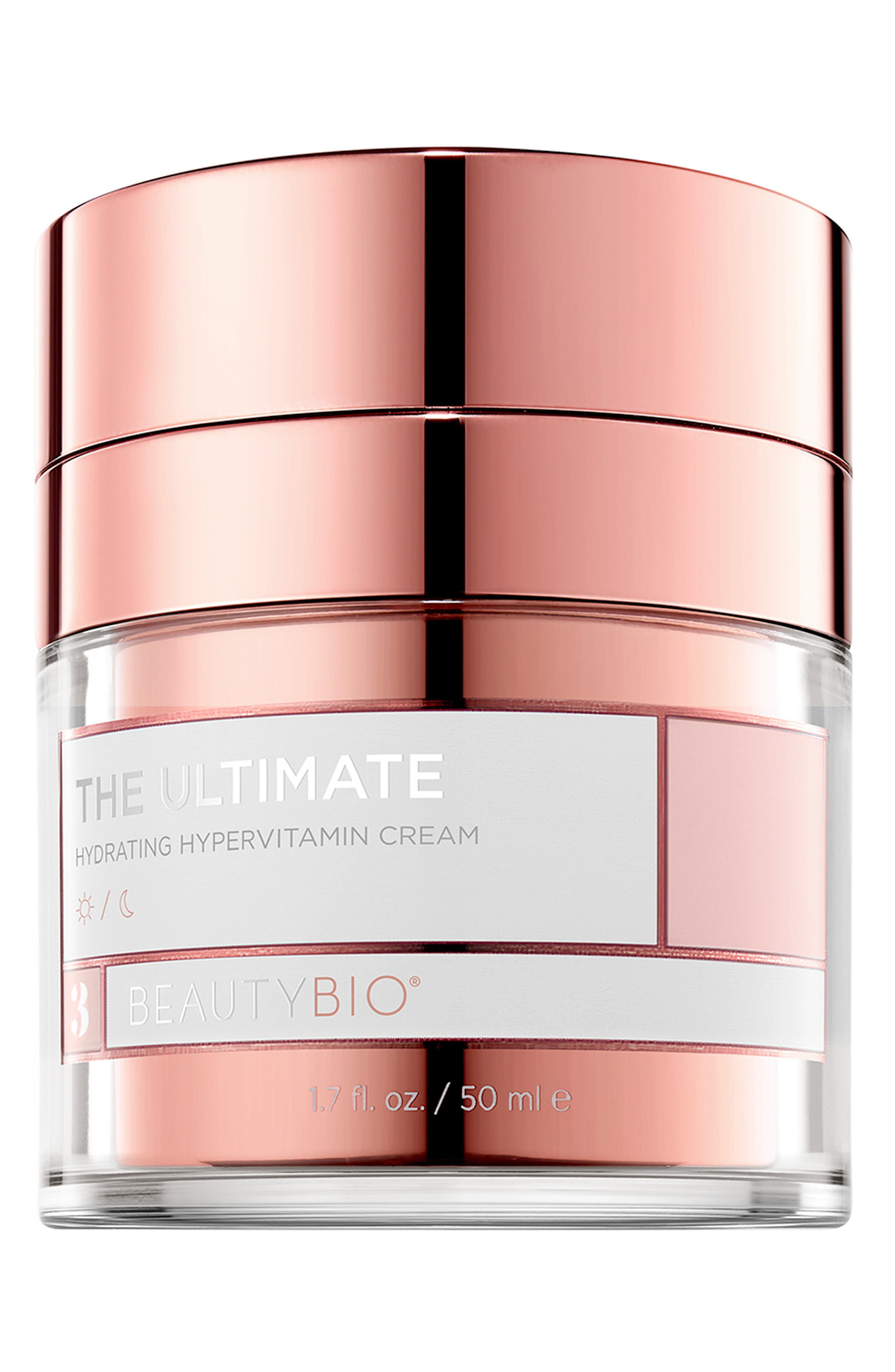 BEAUTYBIO, The Ultimate Hydrating HyperVitamin Cream, Main thumbnail 1, color, NO COLOR
