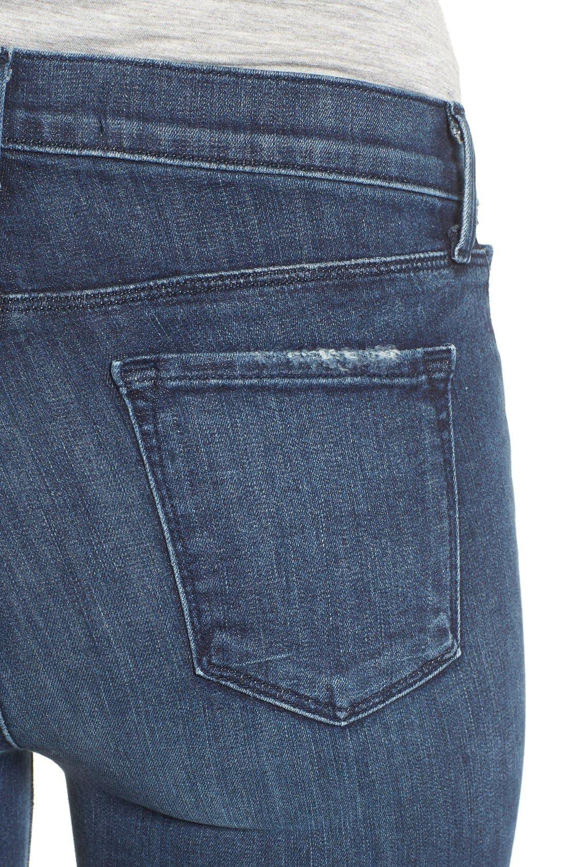 J BRAND, '811' Ankle Skinny Jeans, Alternate thumbnail 4, color, 401